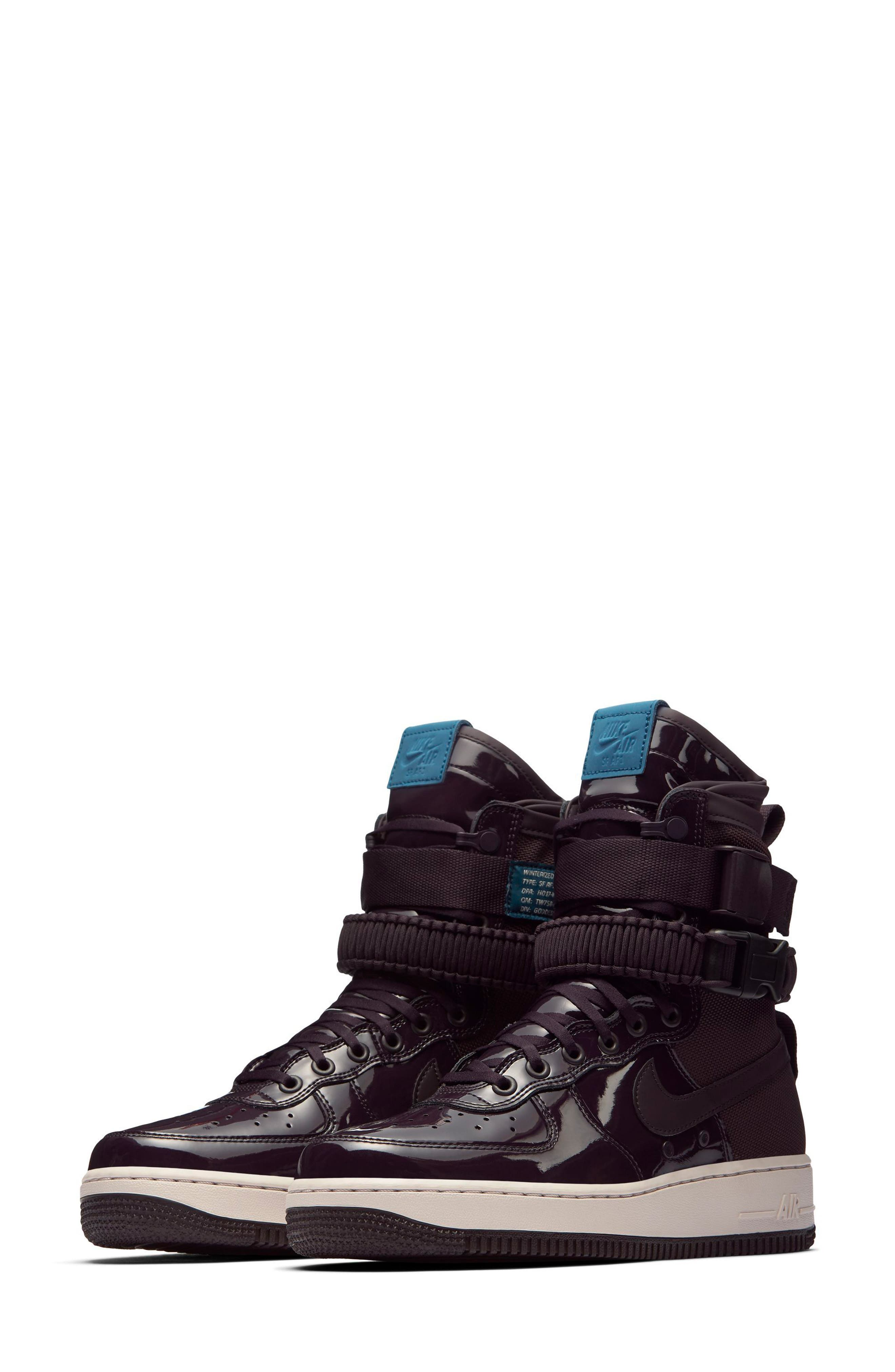 SF Air Force 1 High Top Sneaker,                             Main thumbnail 2, color,