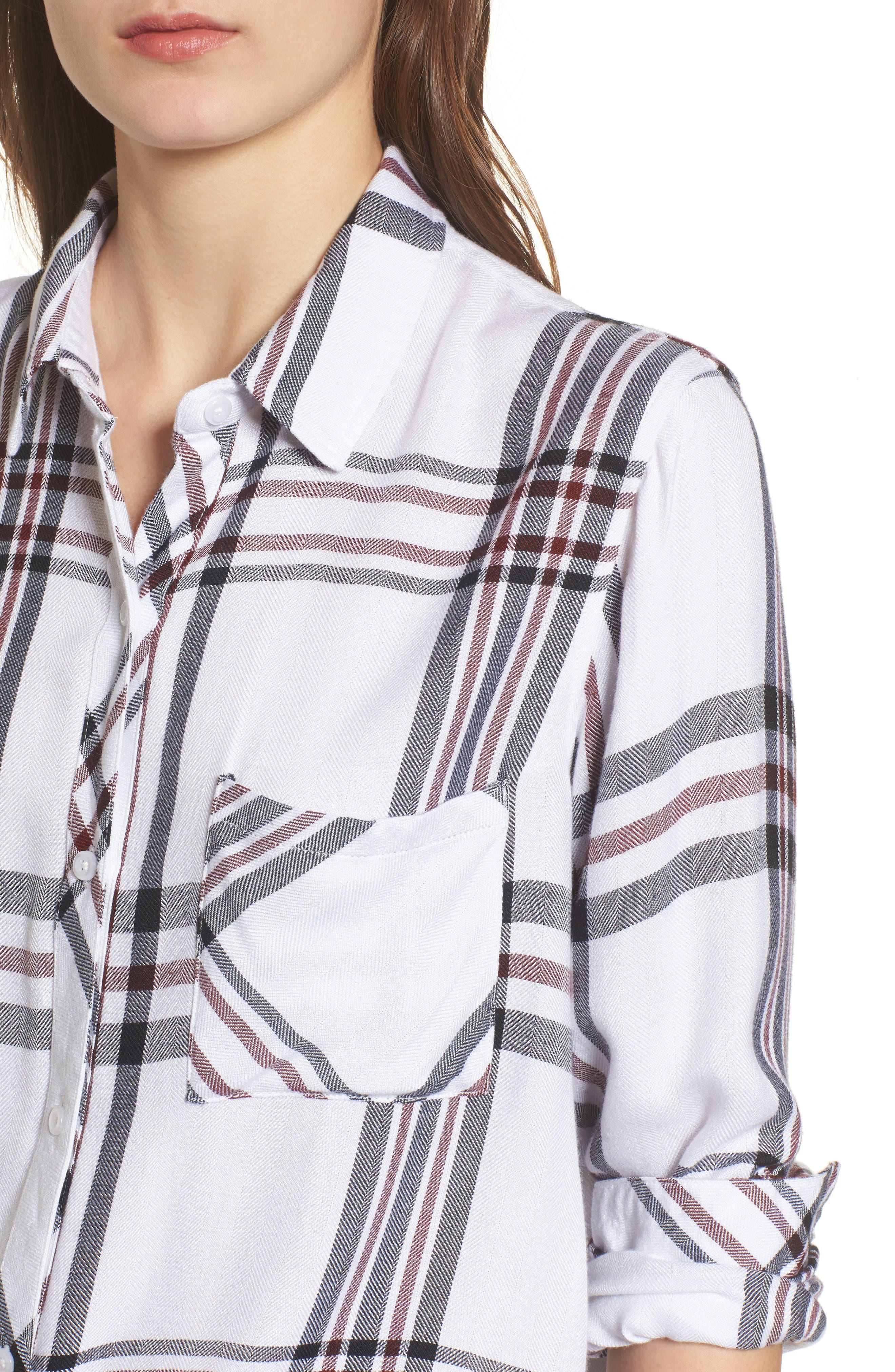 Hunter Plaid Shirt,                             Alternate thumbnail 440, color,