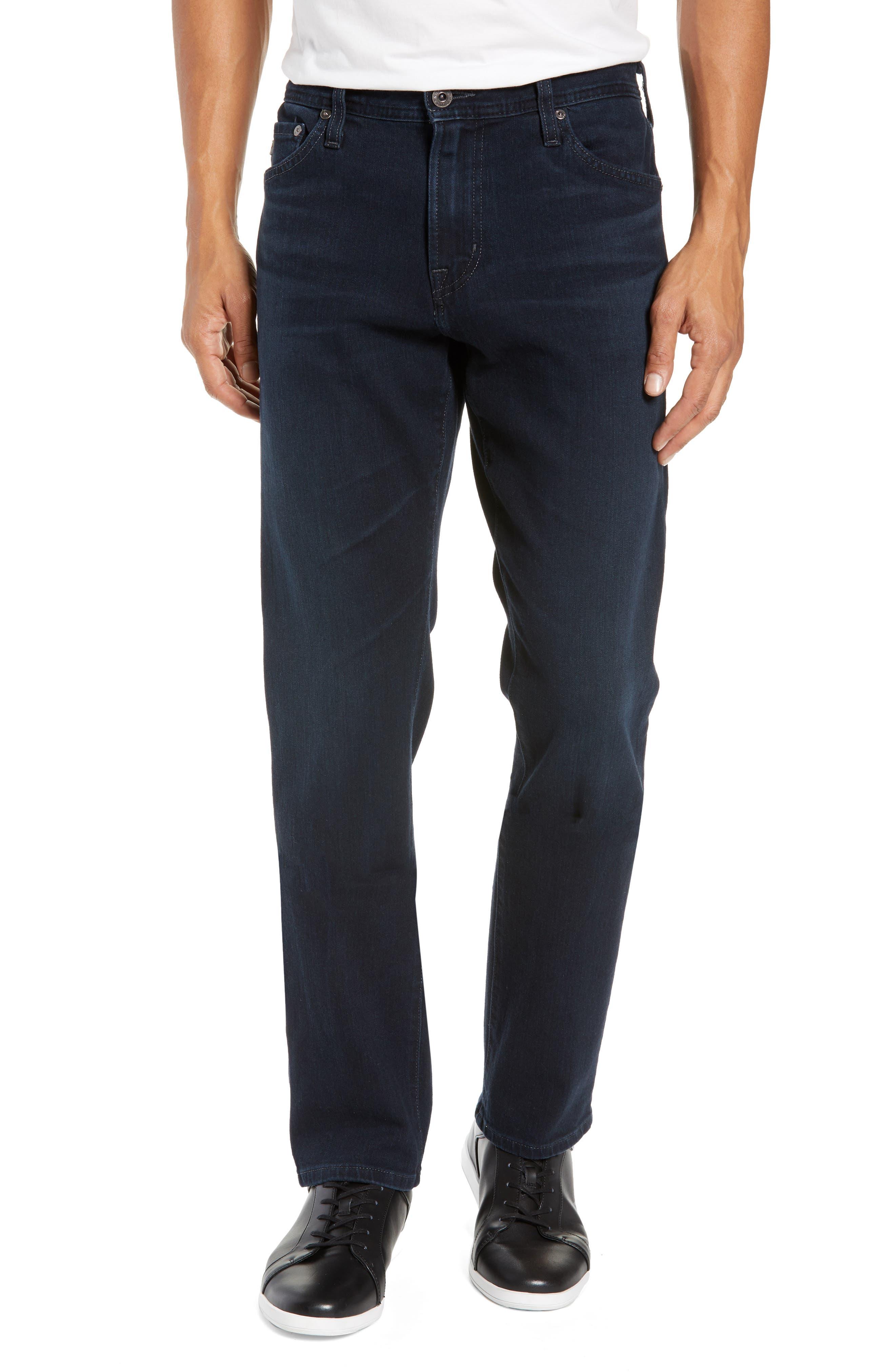 Everett Slim Straight Jeans,                         Main,                         color, ORISON