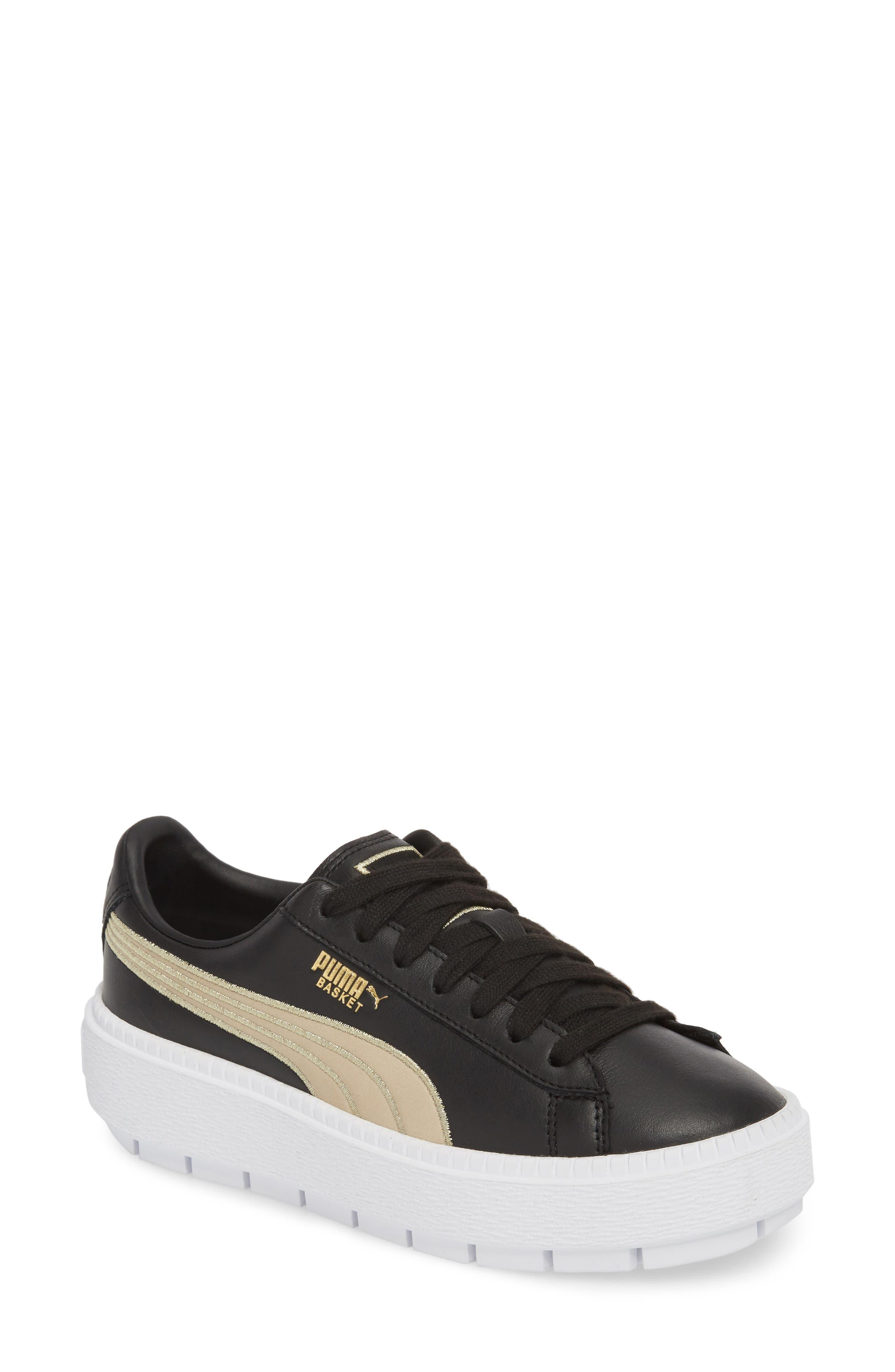 Platform Trace Sneaker,                             Main thumbnail 1, color,                             001