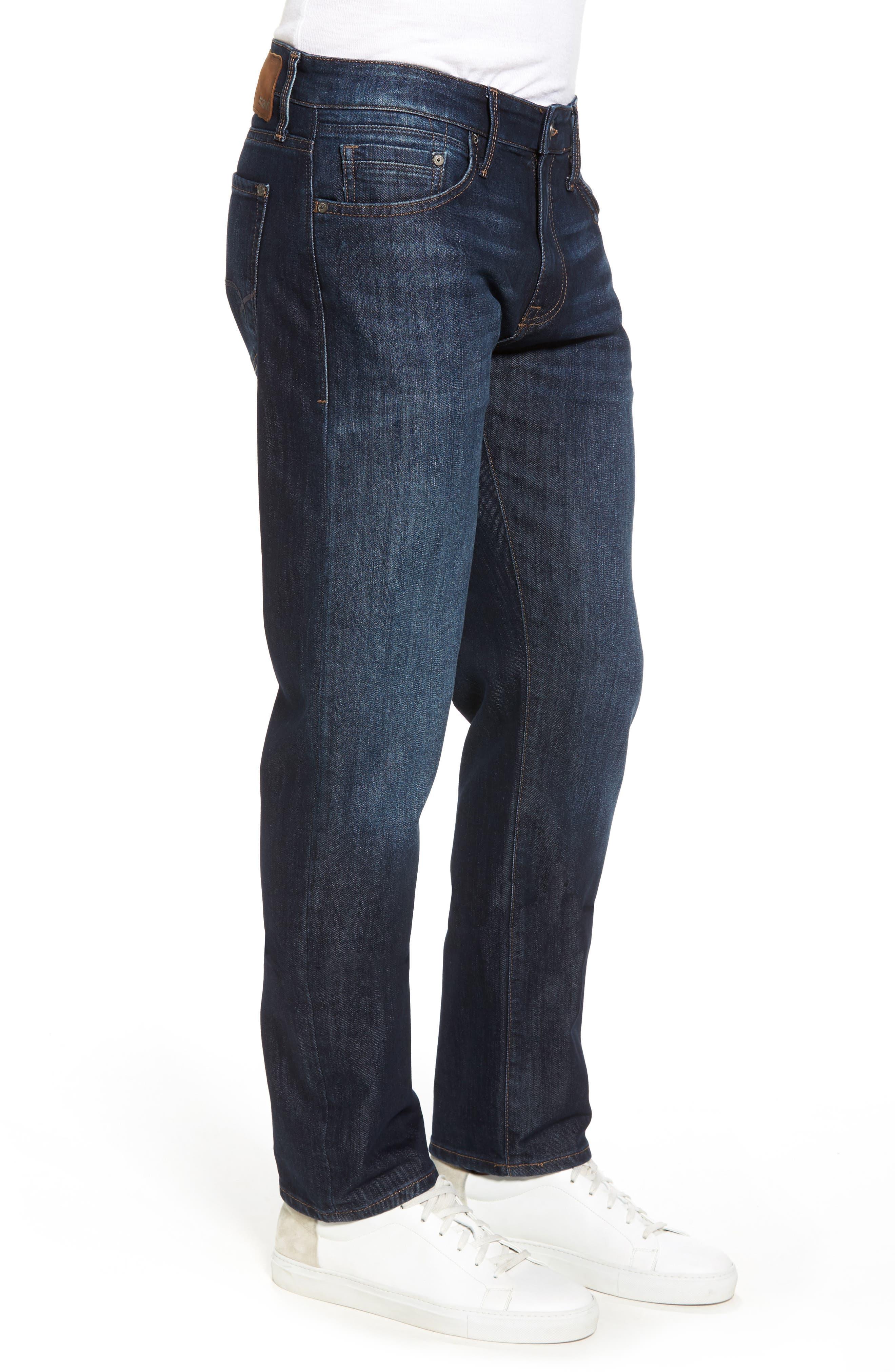 Zach Straight Leg Jeans,                             Alternate thumbnail 3, color,                             400