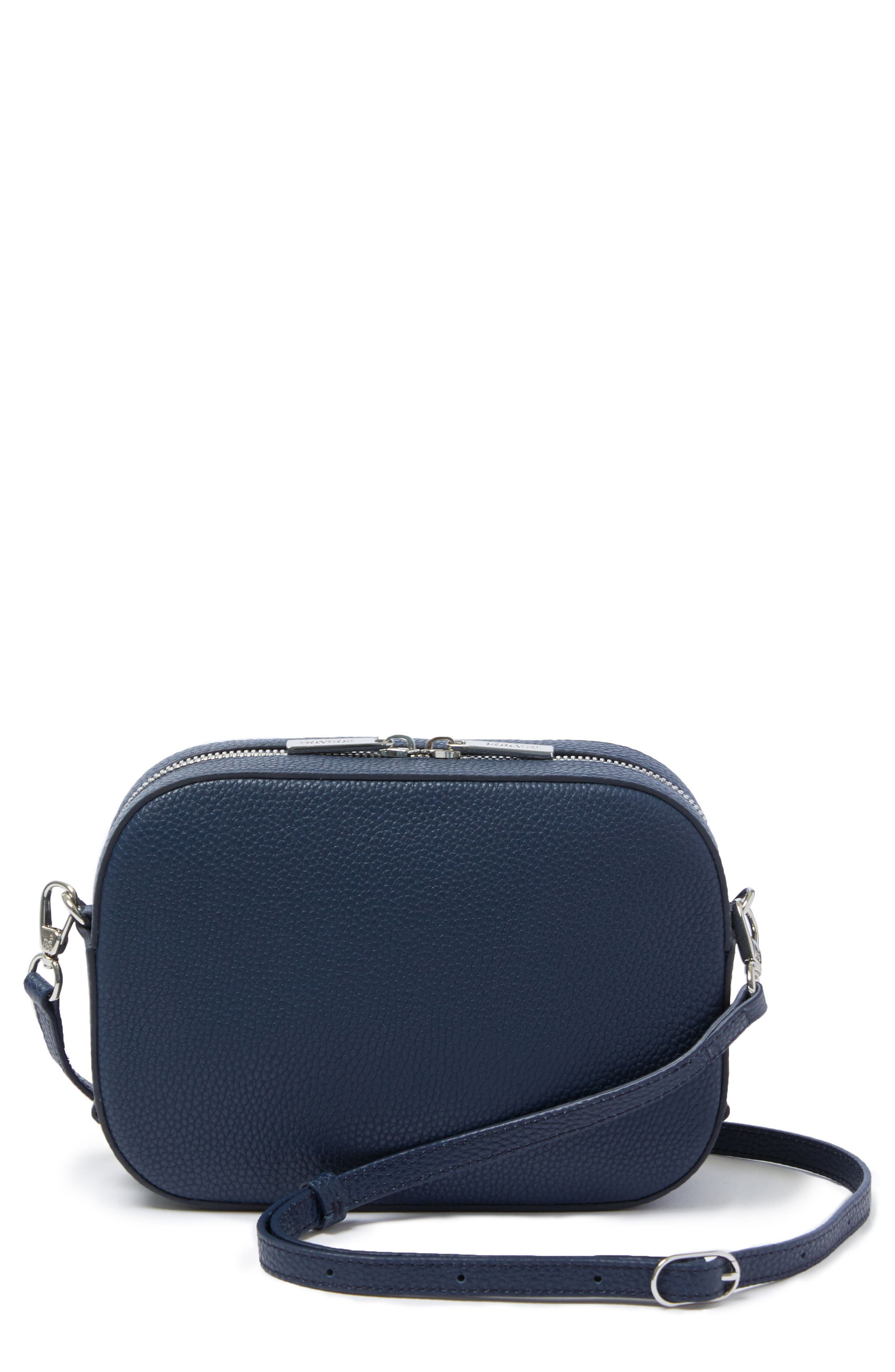 Bigger Leather Camera Bag,                             Main thumbnail 4, color,