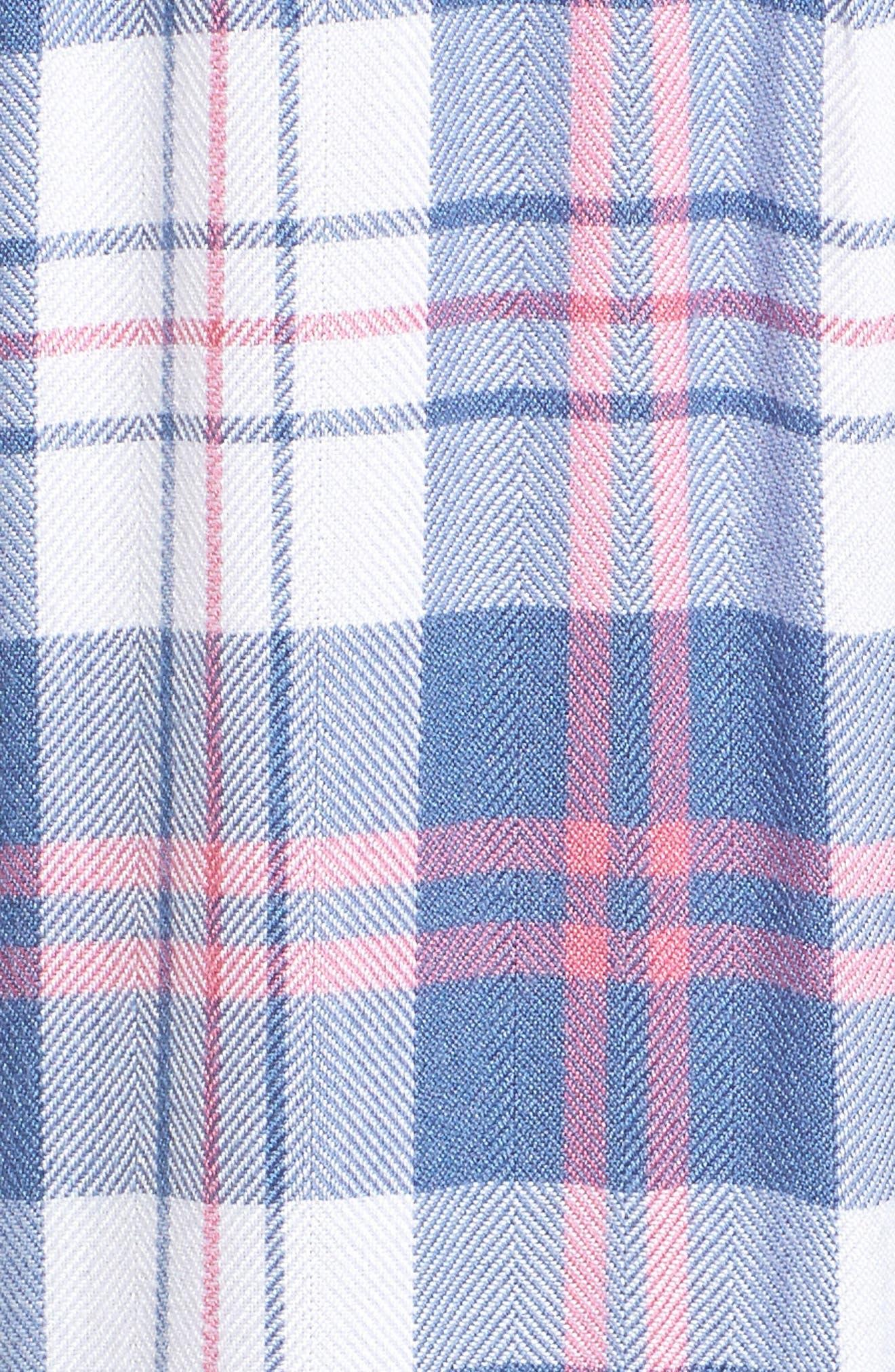 Hunter Plaid Shirt,                             Alternate thumbnail 599, color,