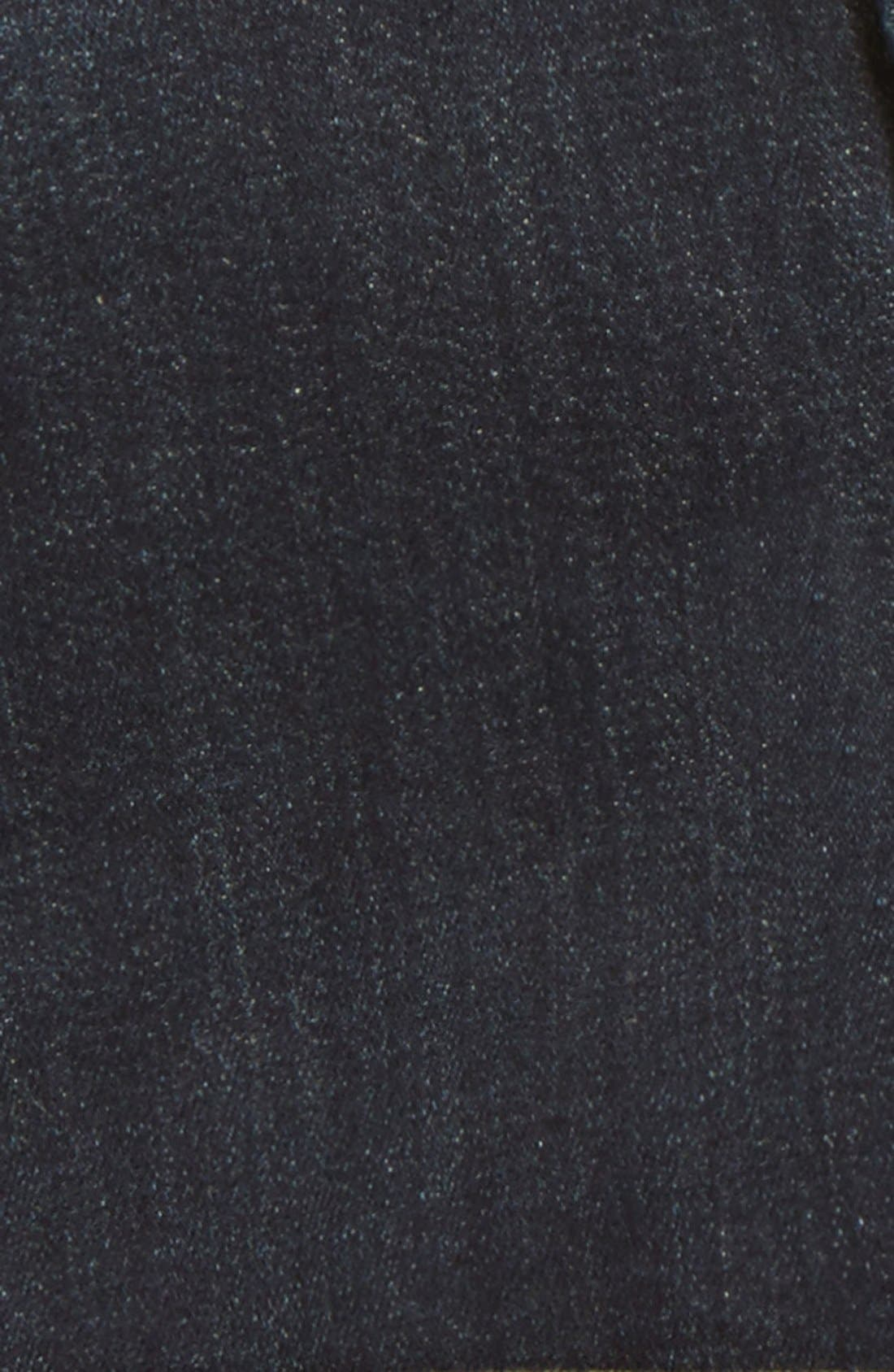 Roll Cuff Denim Shorts,                             Alternate thumbnail 9, color,