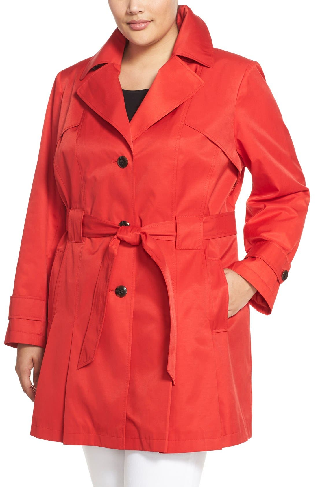 'Scarpa' Single Breasted Trench Coat,                             Alternate thumbnail 28, color,