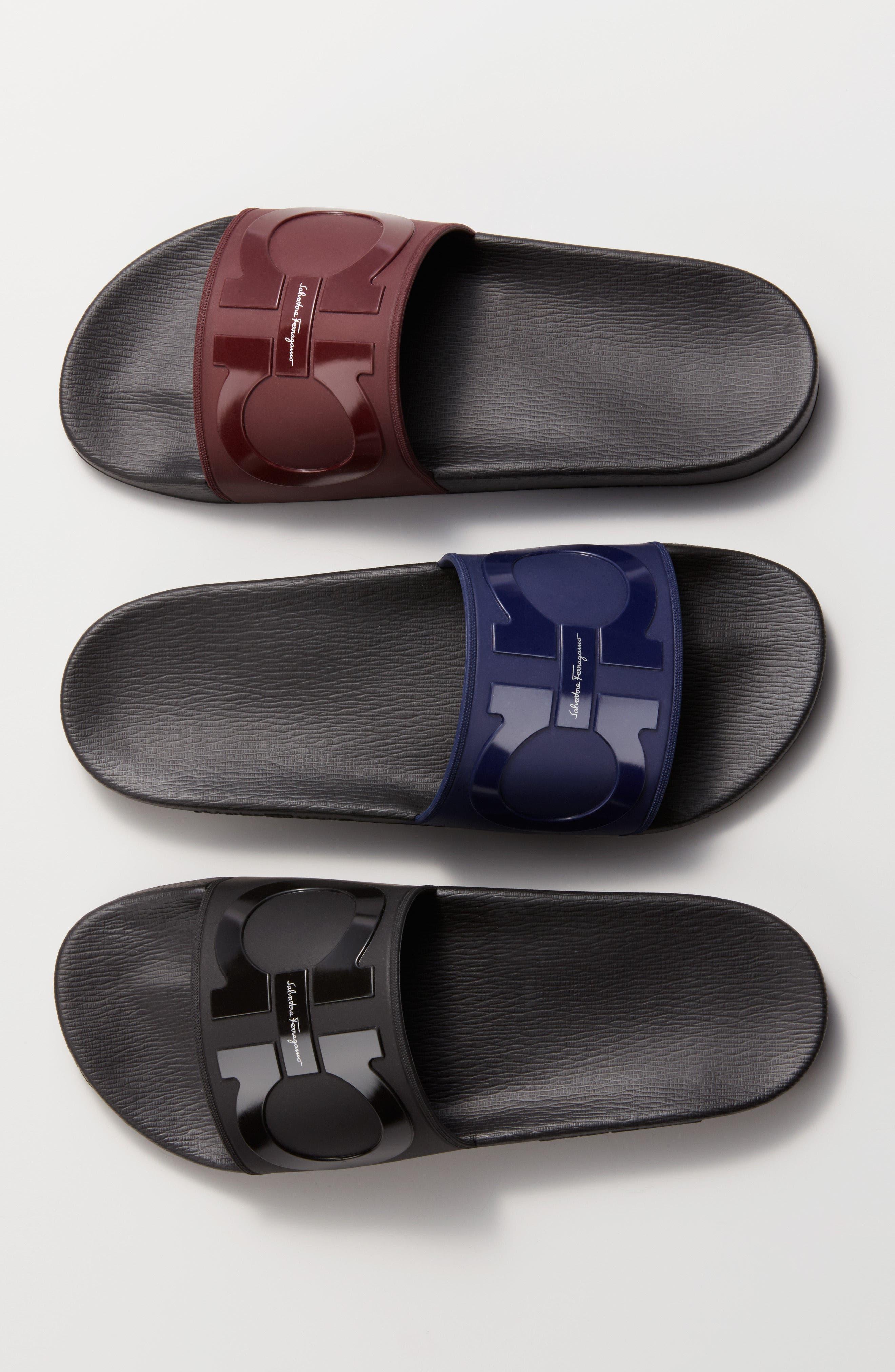 Groove 2 Slide Sandal,                             Alternate thumbnail 7, color,                             NERO/ NERO