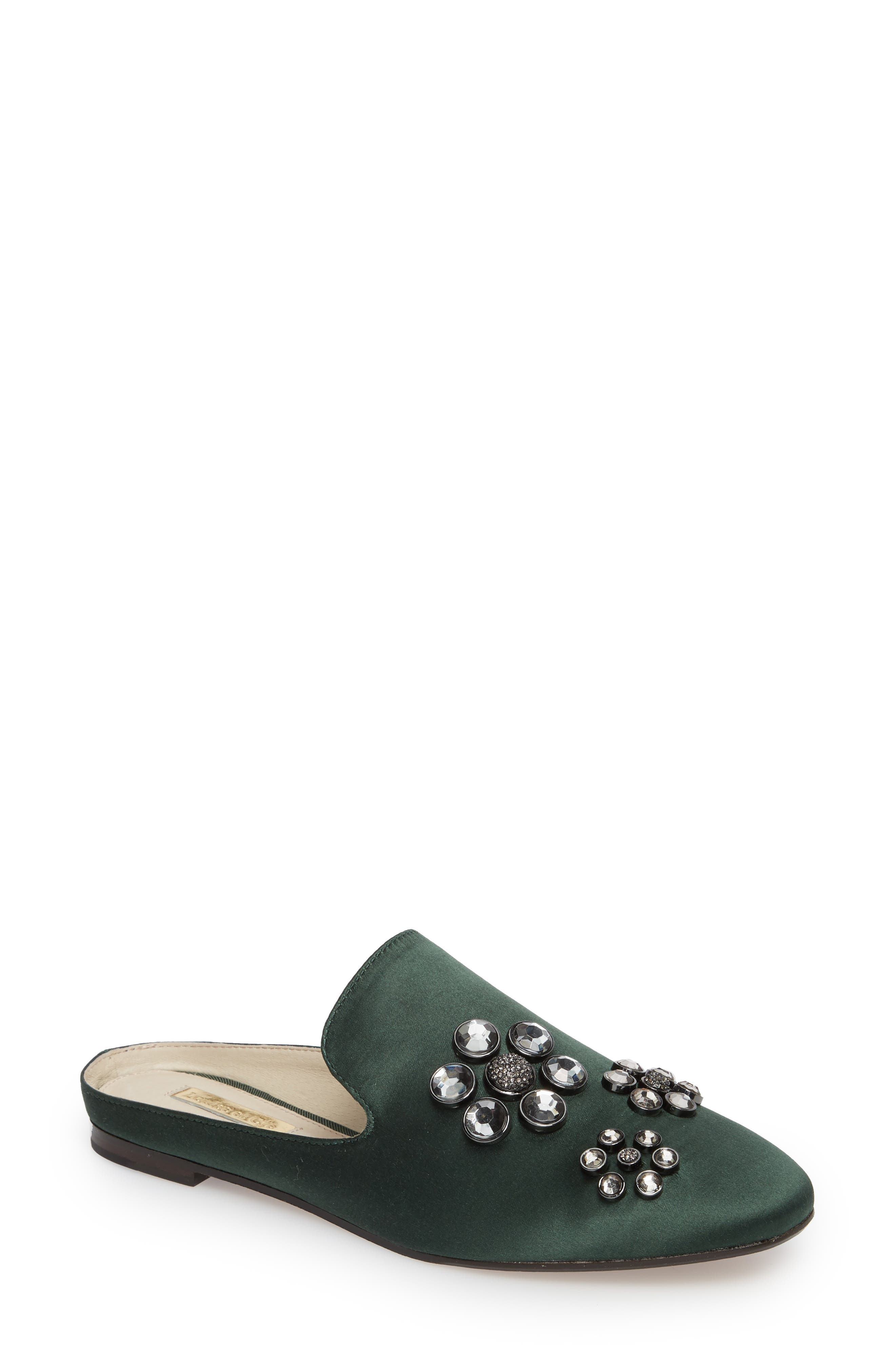 Felix II Crystal Flower Loafer Mule,                             Main thumbnail 2, color,