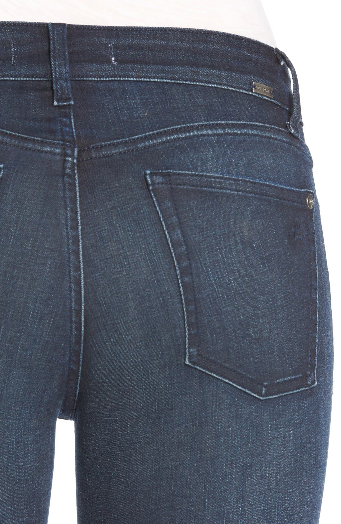Margaux Instasculpt Ankle Skinny Jeans,                             Alternate thumbnail 4, color,                             425