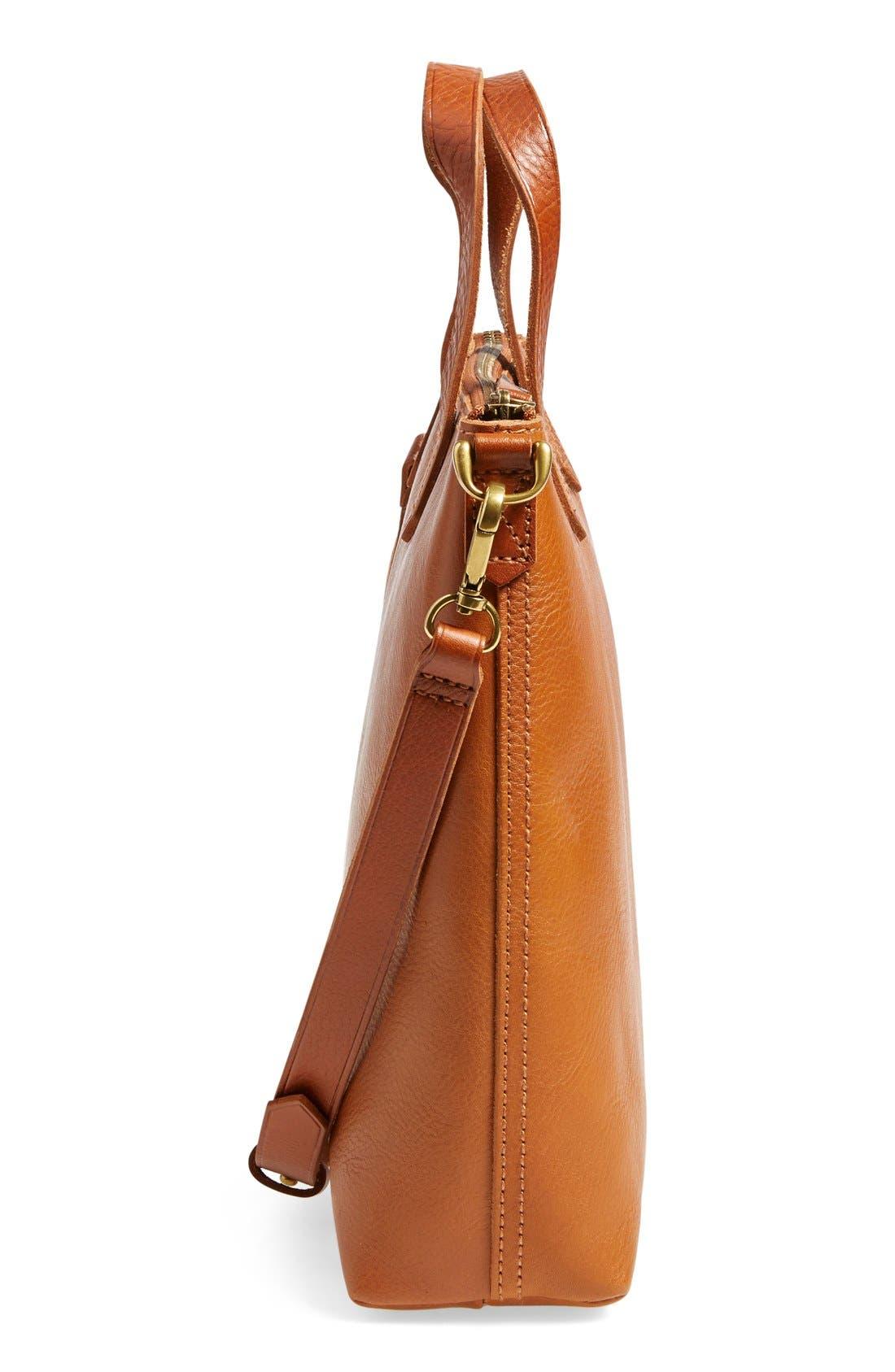The Transport Leather Crossbody Bag,                             Alternate thumbnail 12, color,