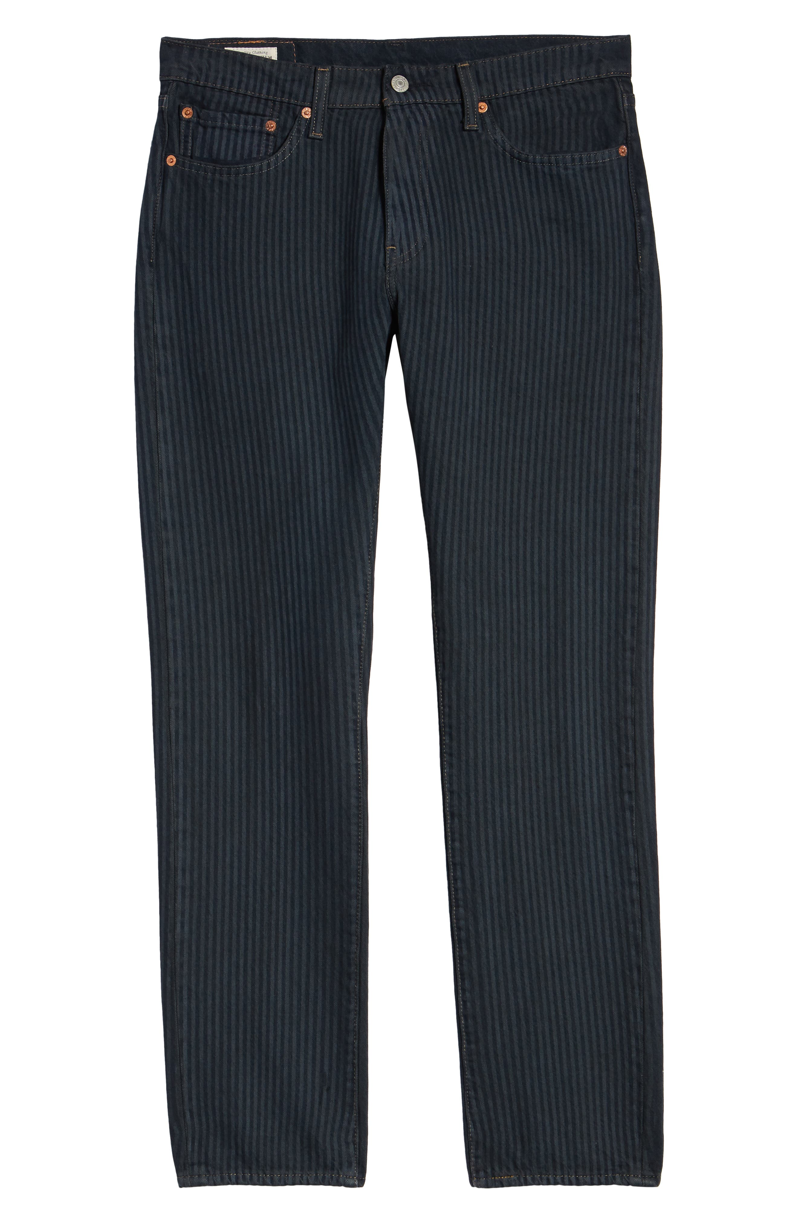 511<sup>™</sup> Stripe Slim Fit Jeans,                             Alternate thumbnail 6, color,                             DARK ONLY