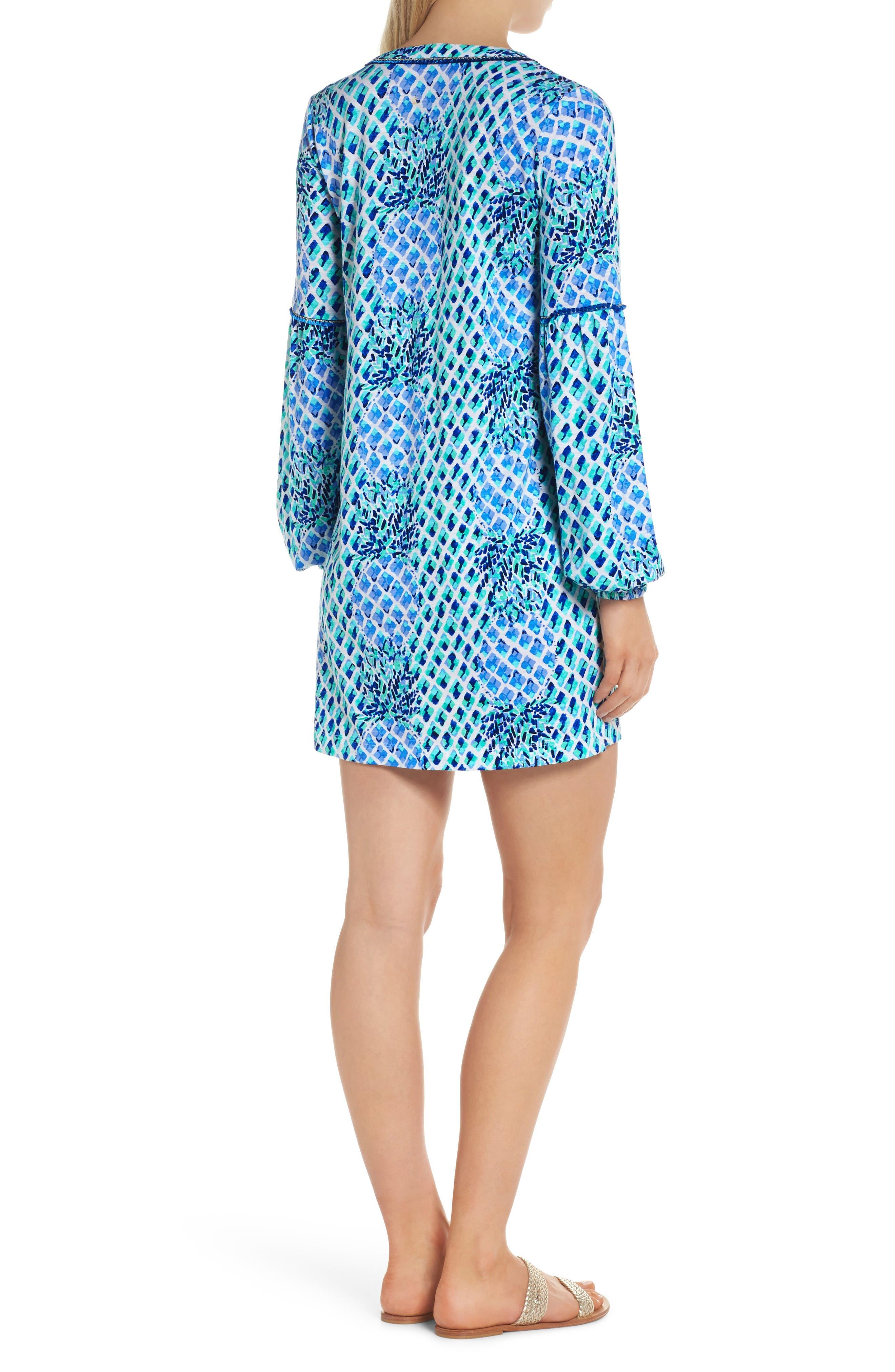 Joy Tunic Dress,                             Alternate thumbnail 2, color,                             400