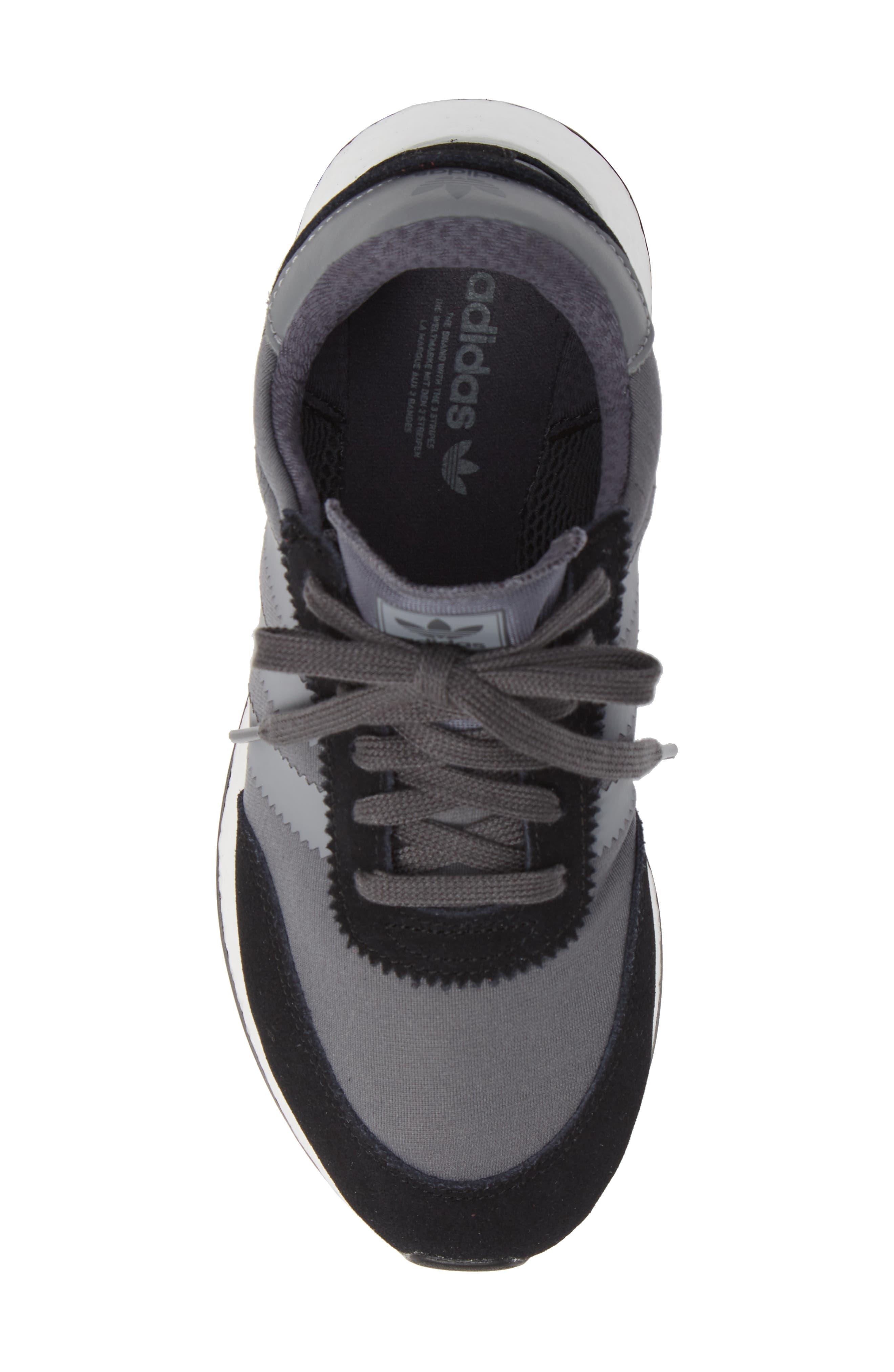 I-5923 Sneaker,                             Alternate thumbnail 5, color,                             BLACK/ GREY THREE/ GREY FIVE