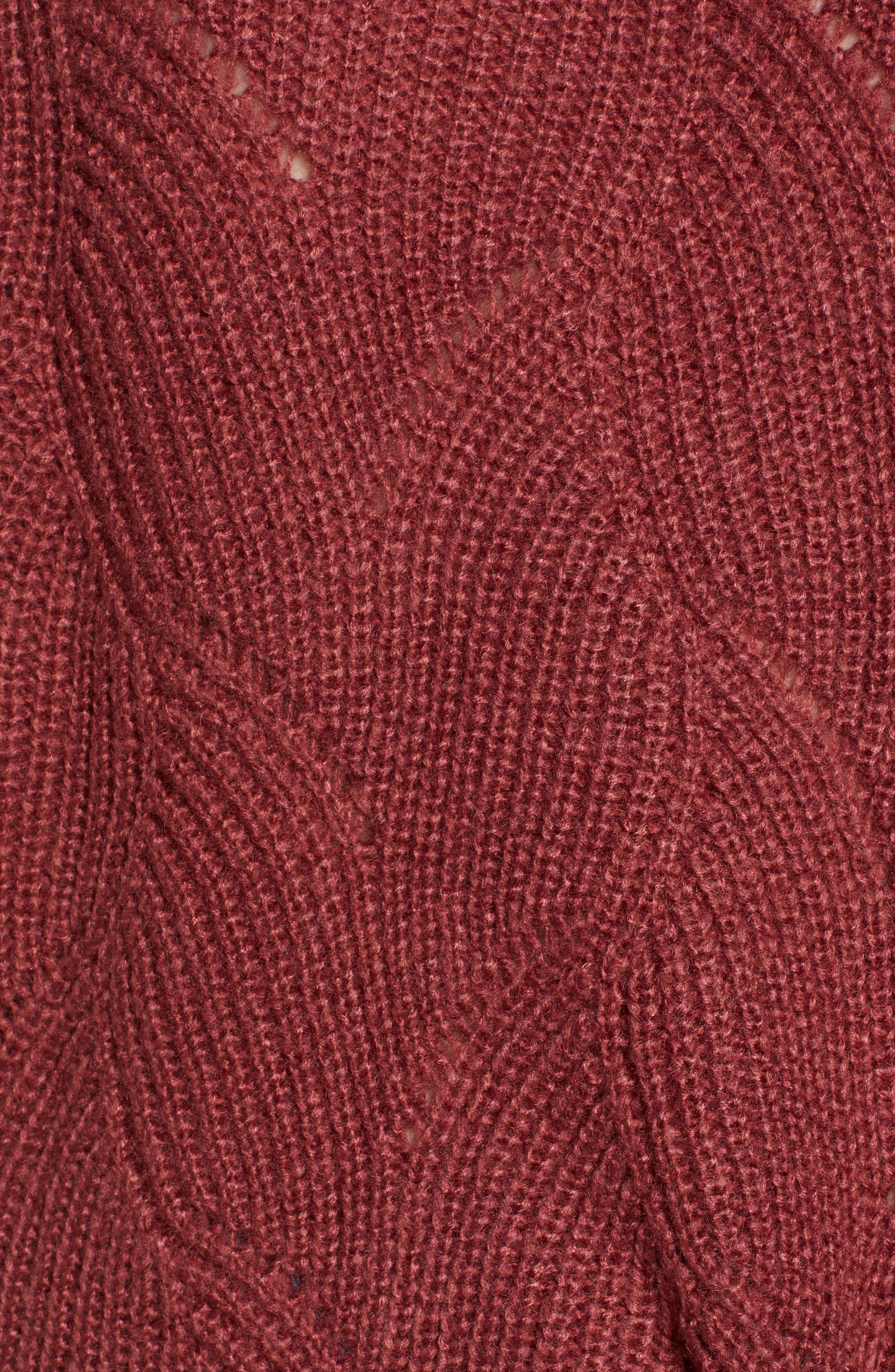 ROXY,                             See You In Bali Sweater,                             Alternate thumbnail 5, color,                             600