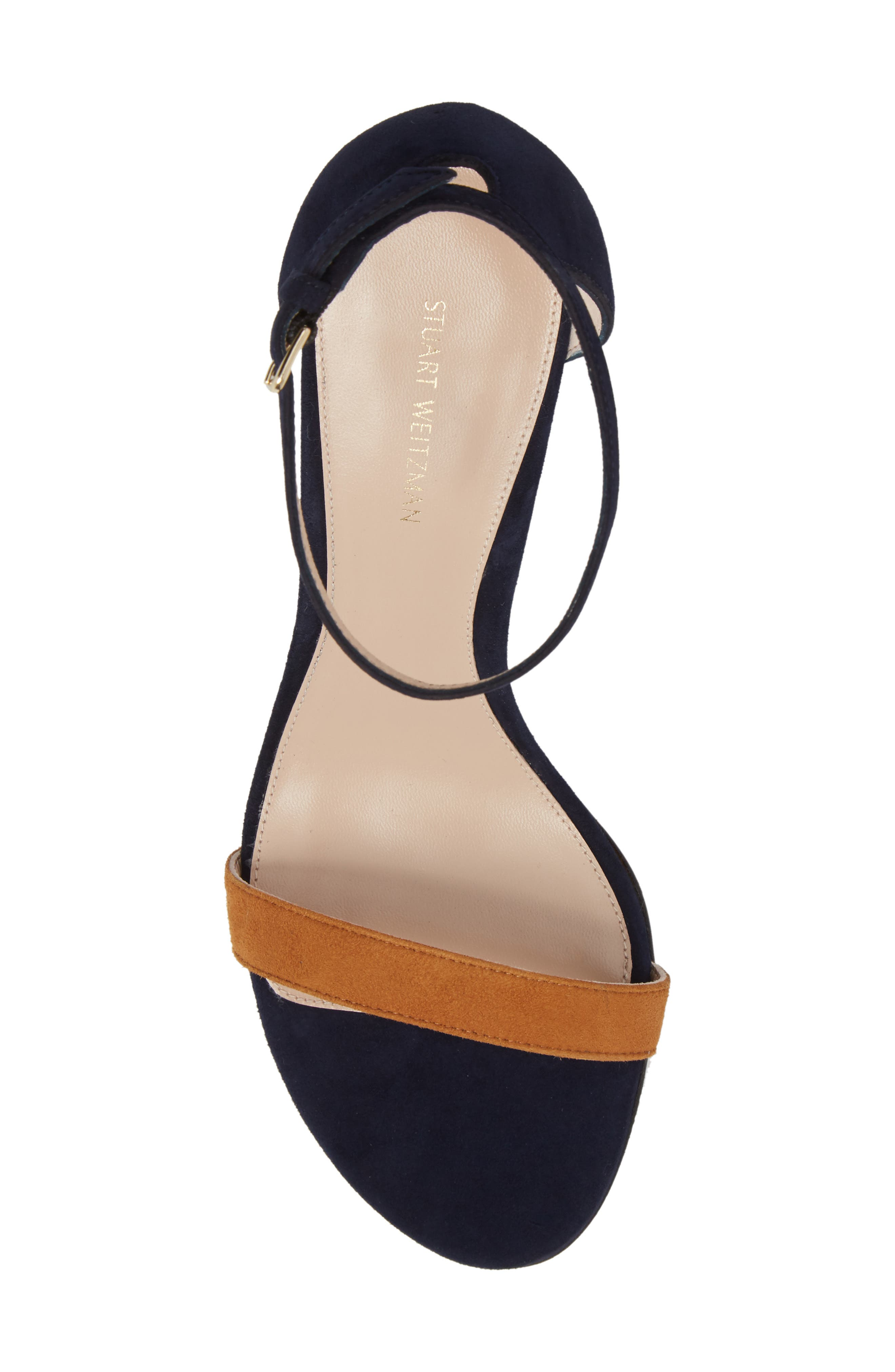 NearlyNude Ankle Strap Sandal,                             Alternate thumbnail 111, color,
