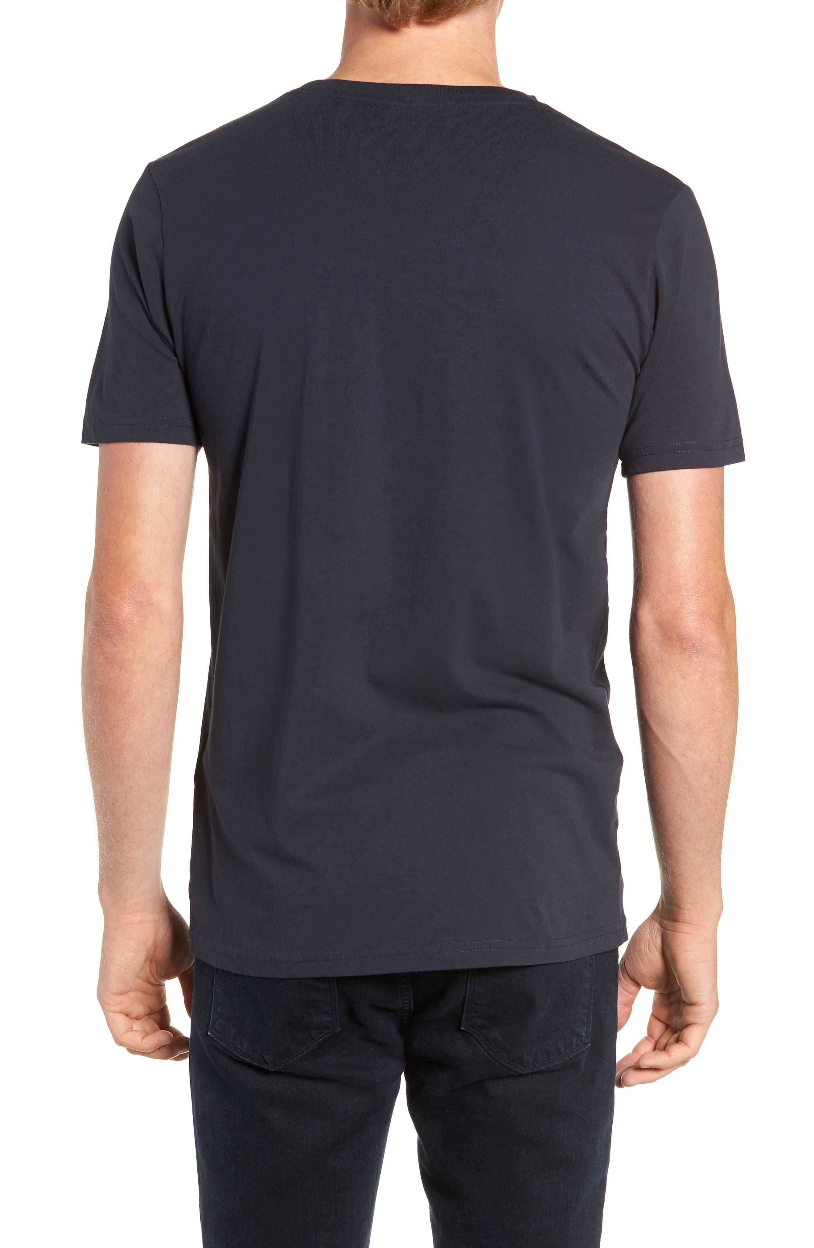 Big Owl Print T-Shirt,                             Alternate thumbnail 2, color,                             NAVY