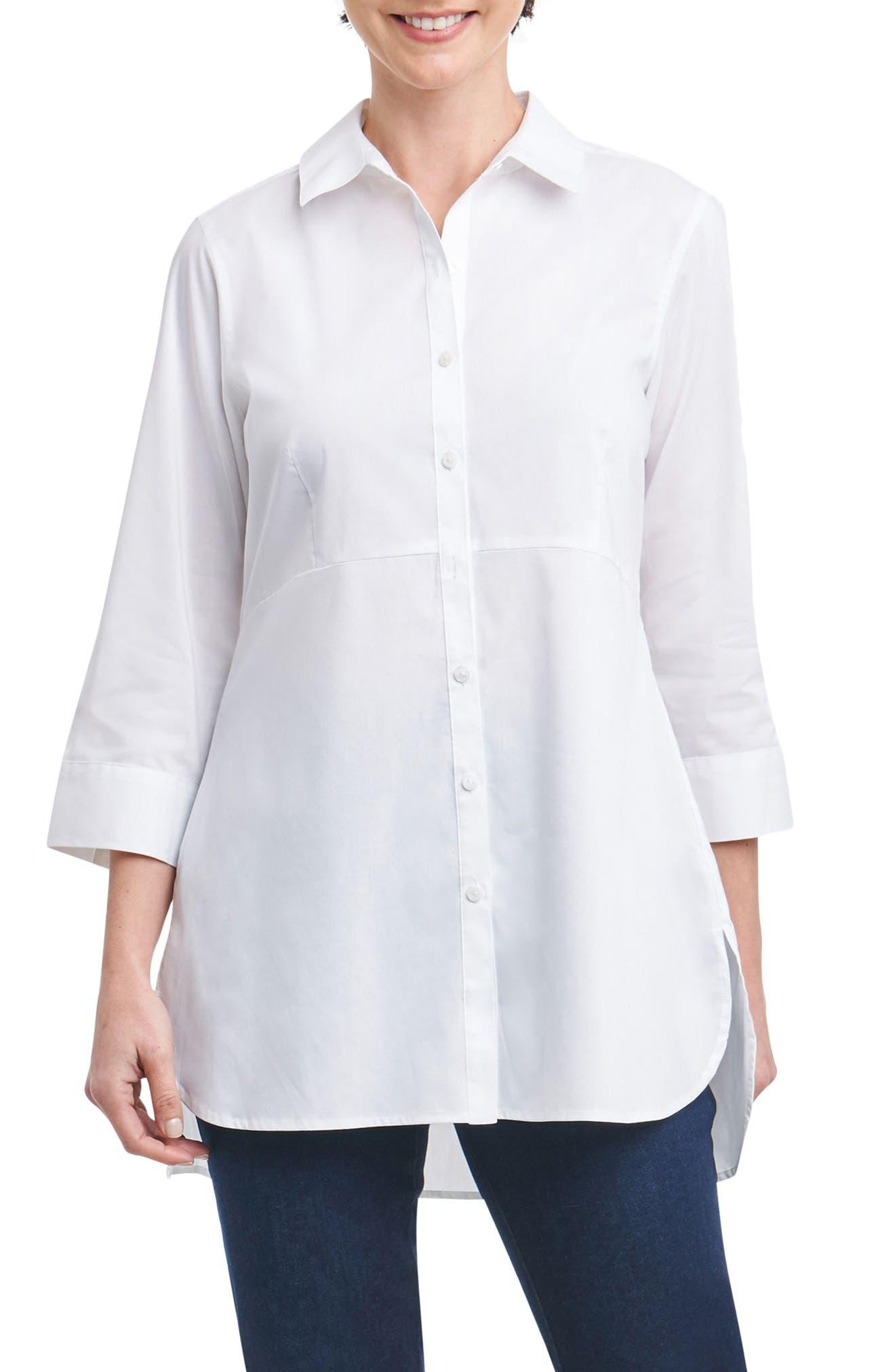 Gwen Stretch Tunic Shirt,                             Main thumbnail 1, color,