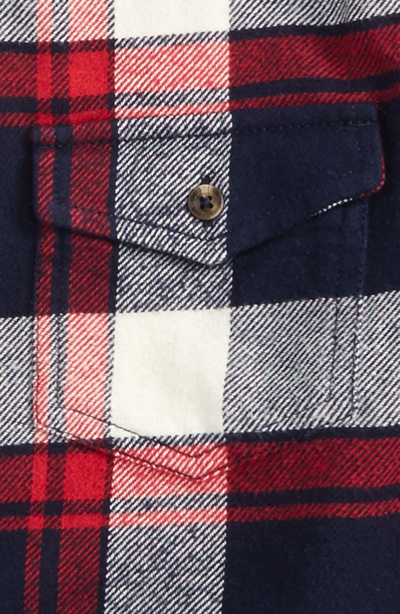 Plaid Flannel Shirt,                             Alternate thumbnail 2, color,                             610