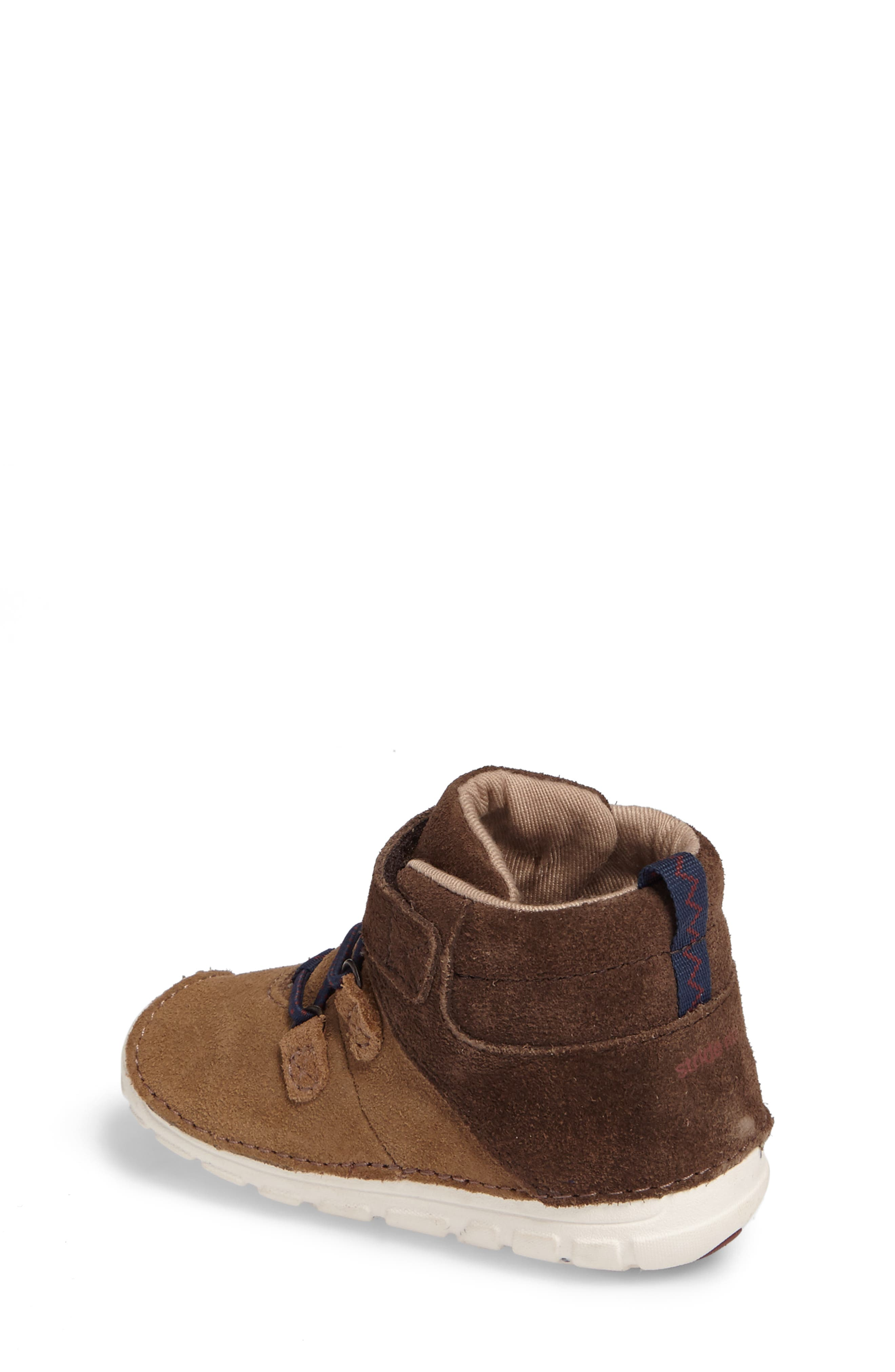 Soft Motion<sup>™</sup> Oliver High Top Sneaker,                             Alternate thumbnail 2, color,                             BROWN SUEDE