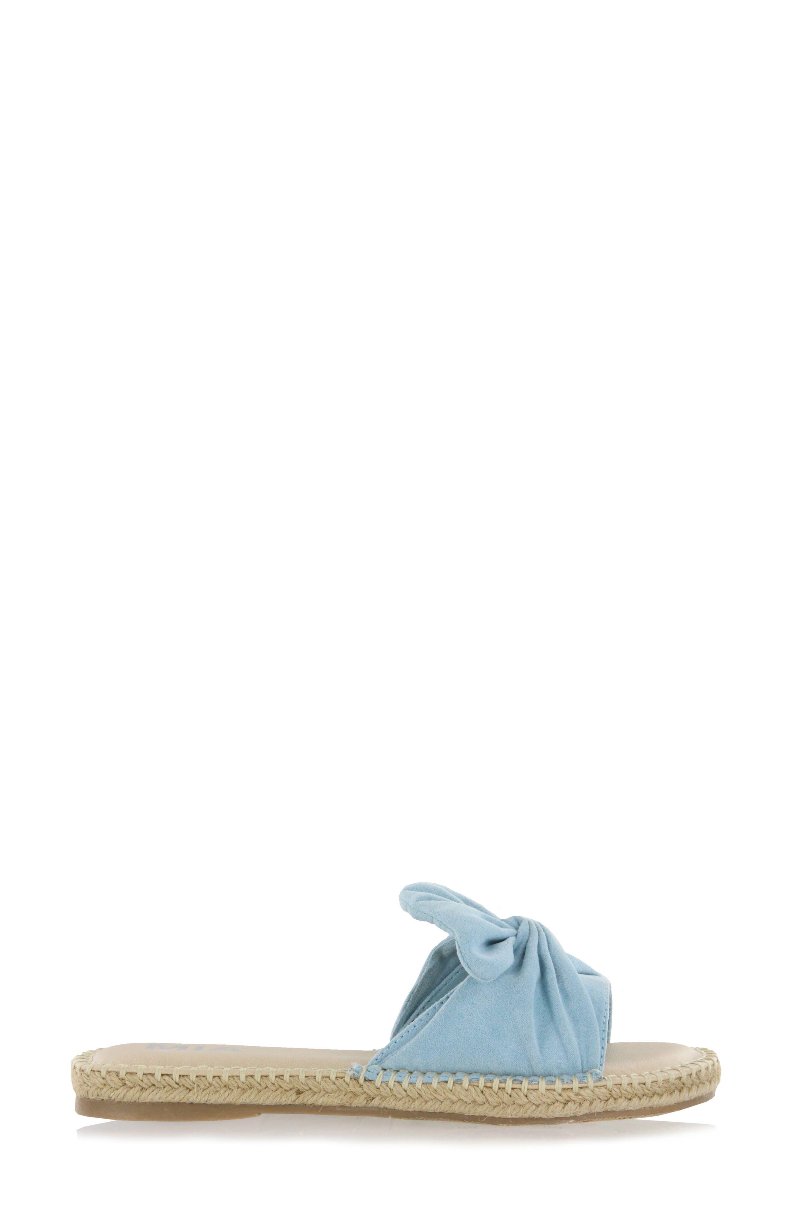 Kensi Knotted Slide Sandal,                             Alternate thumbnail 11, color,
