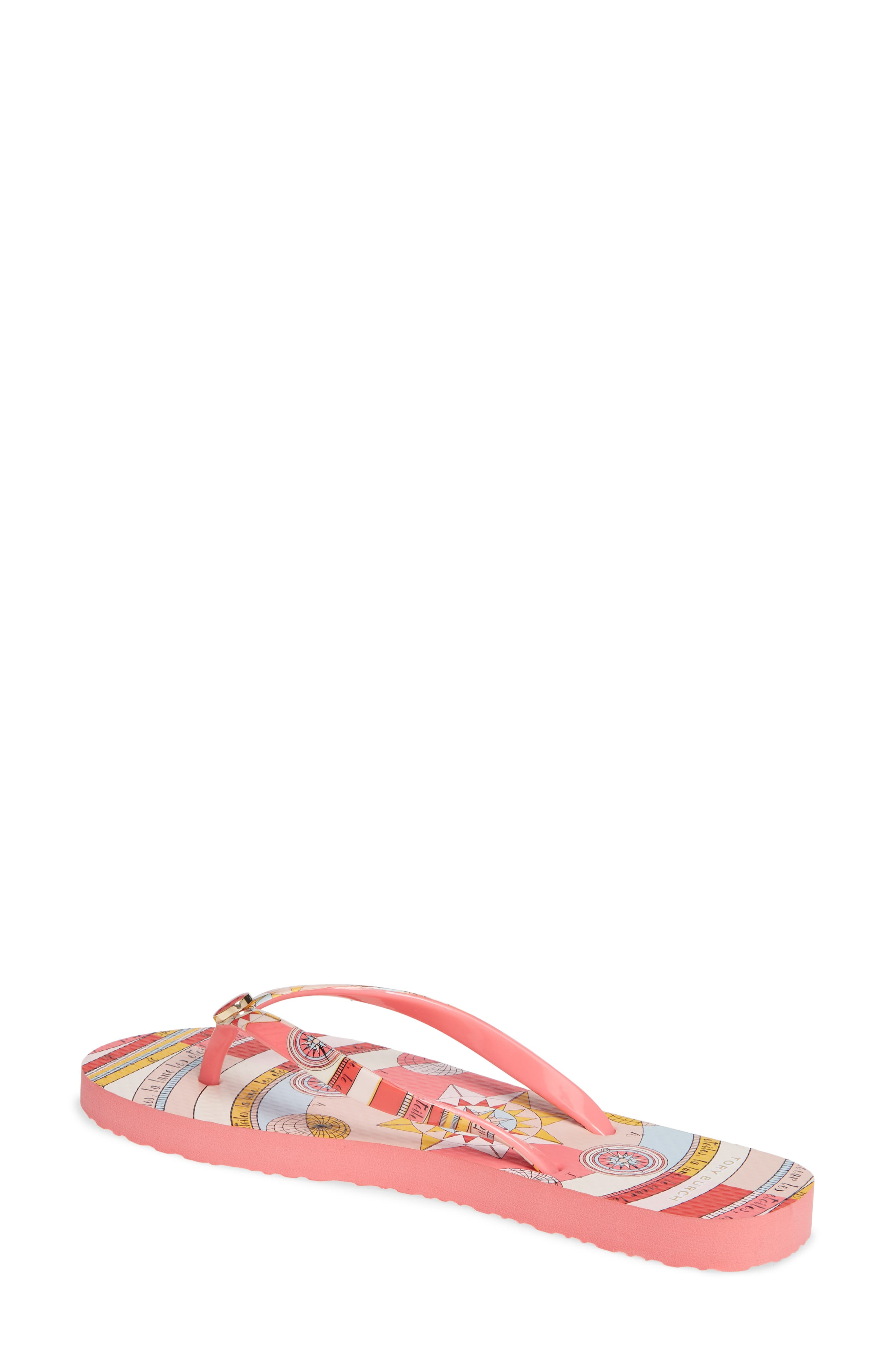 Thin Flip Flop,                             Alternate thumbnail 2, color,                             PINK CONSTELLATION