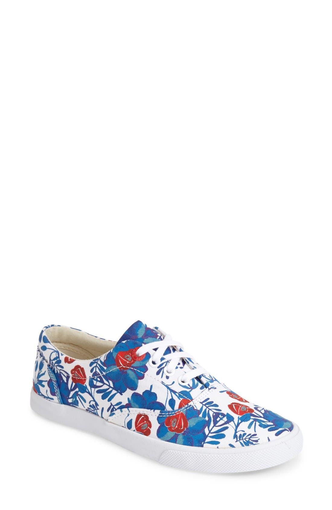 'Floral' Sneaker,                             Main thumbnail 1, color,                             400