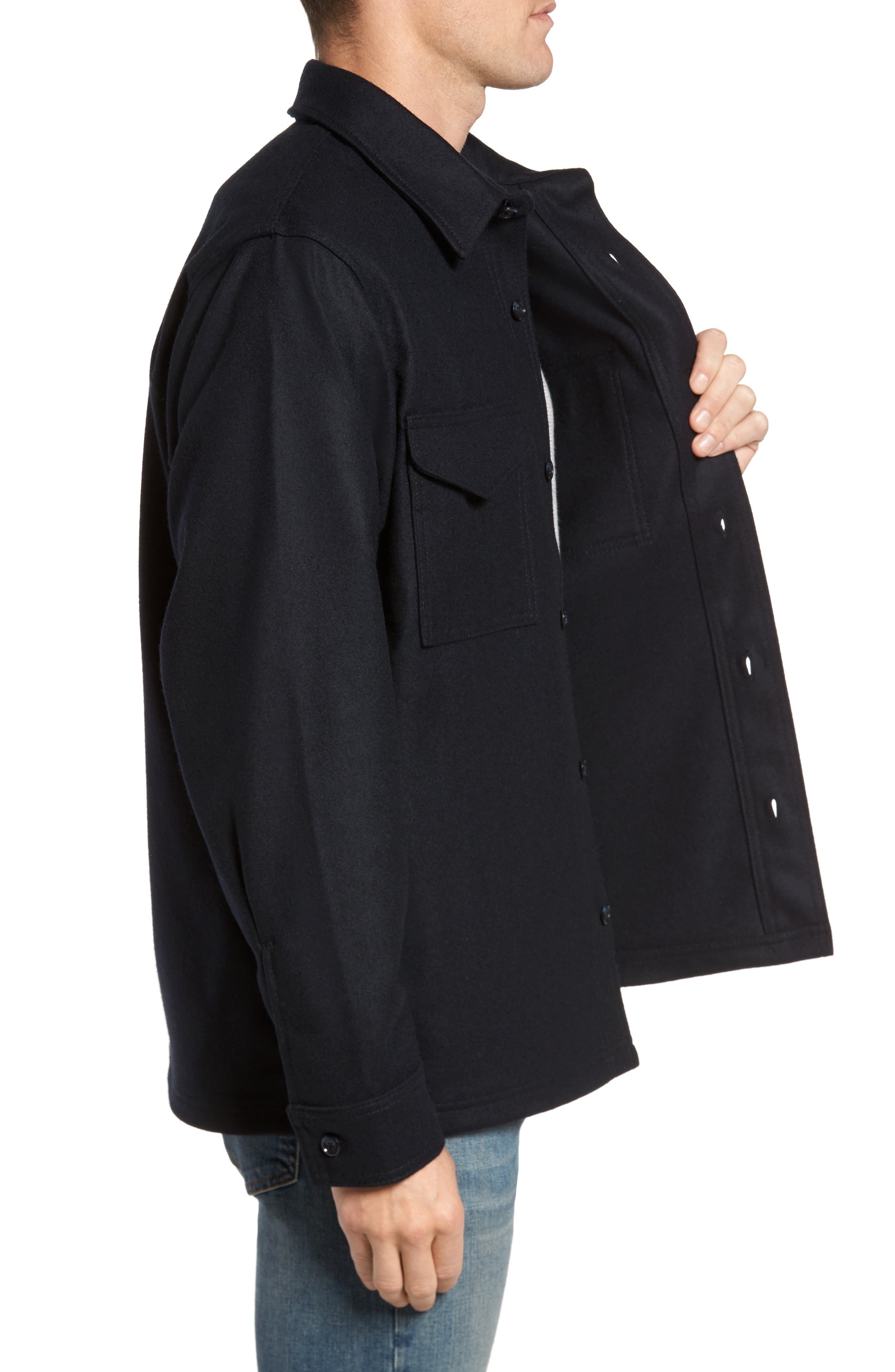 Jac-Shirt Wool Jacket,                             Alternate thumbnail 3, color,                             410