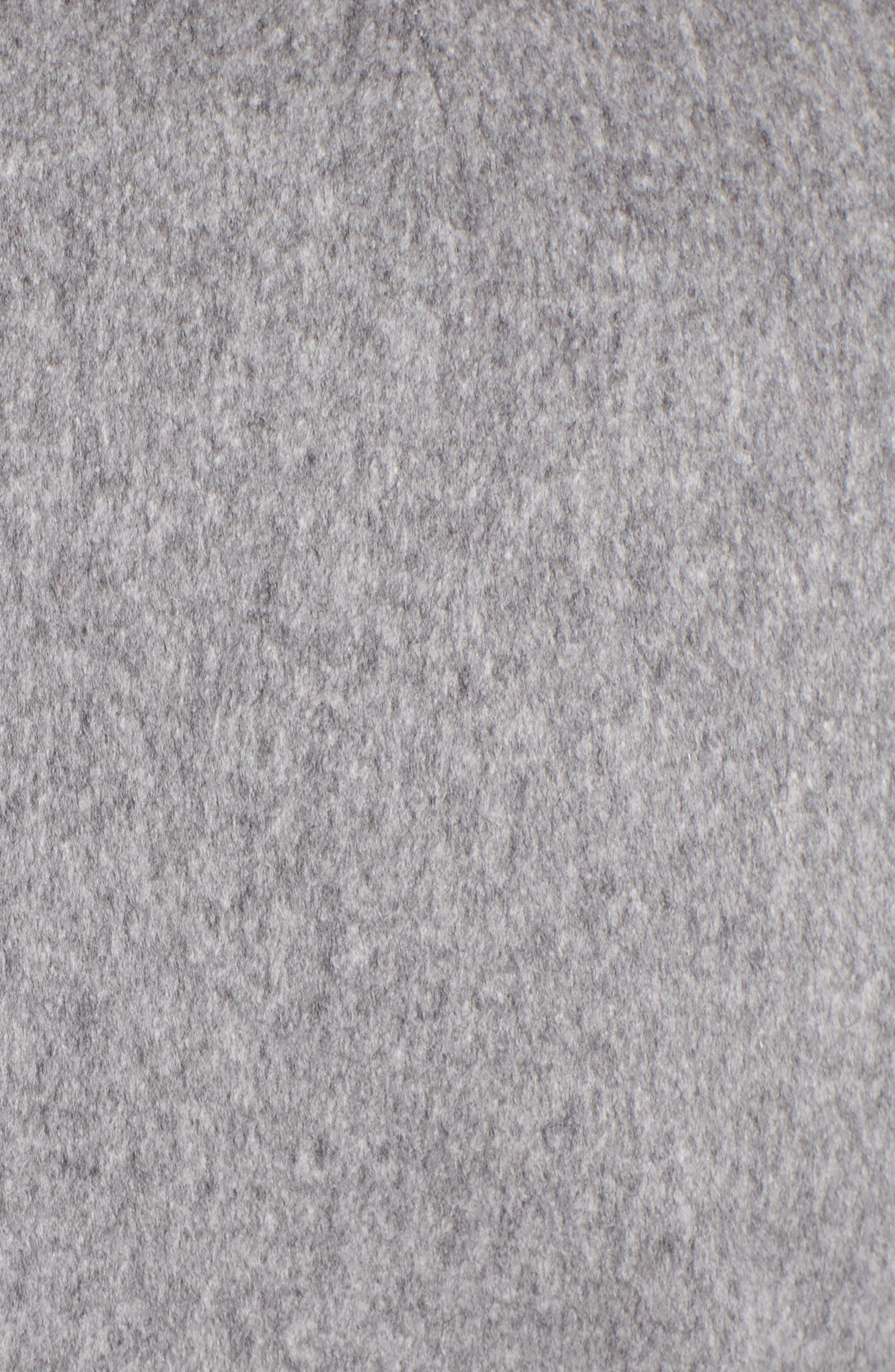 FLEURETTE,                             Loro Piana Wool Peacoat,                             Alternate thumbnail 7, color,                             GREY HEATHER