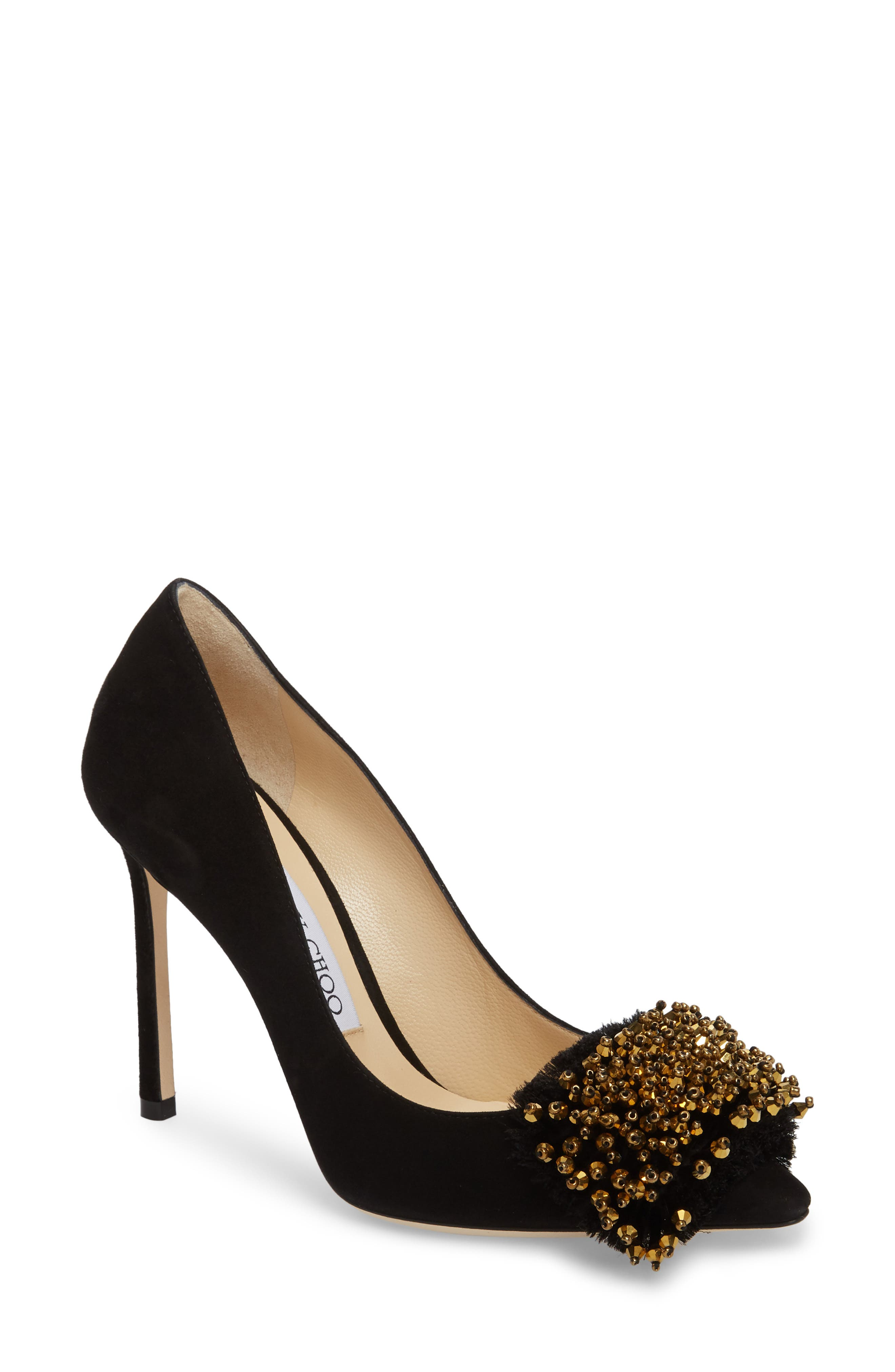 Thelma Beaded Pump,                         Main,                         color,