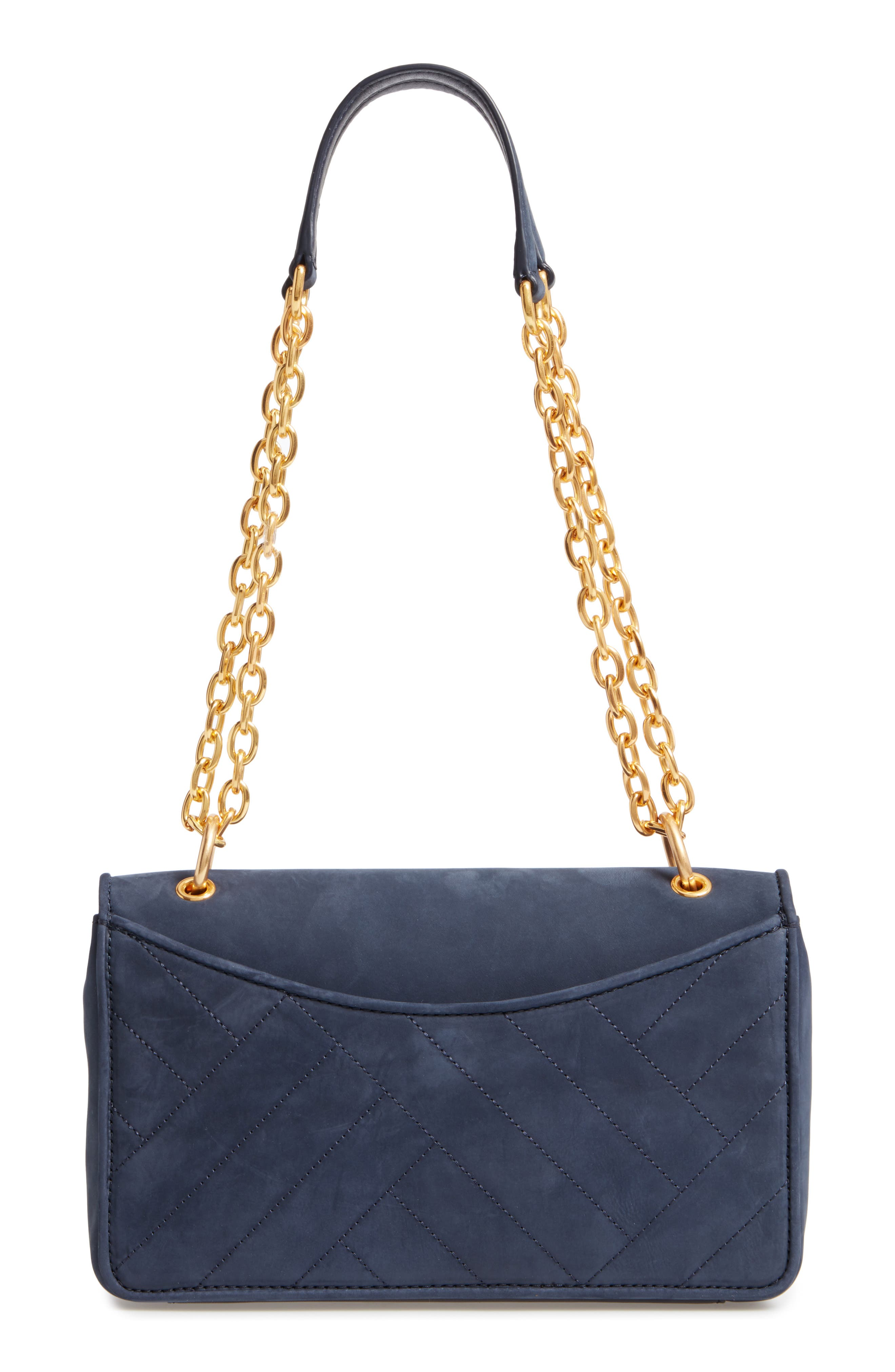 Alexa Leather Shoulder Bag,                             Alternate thumbnail 3, color,                             403