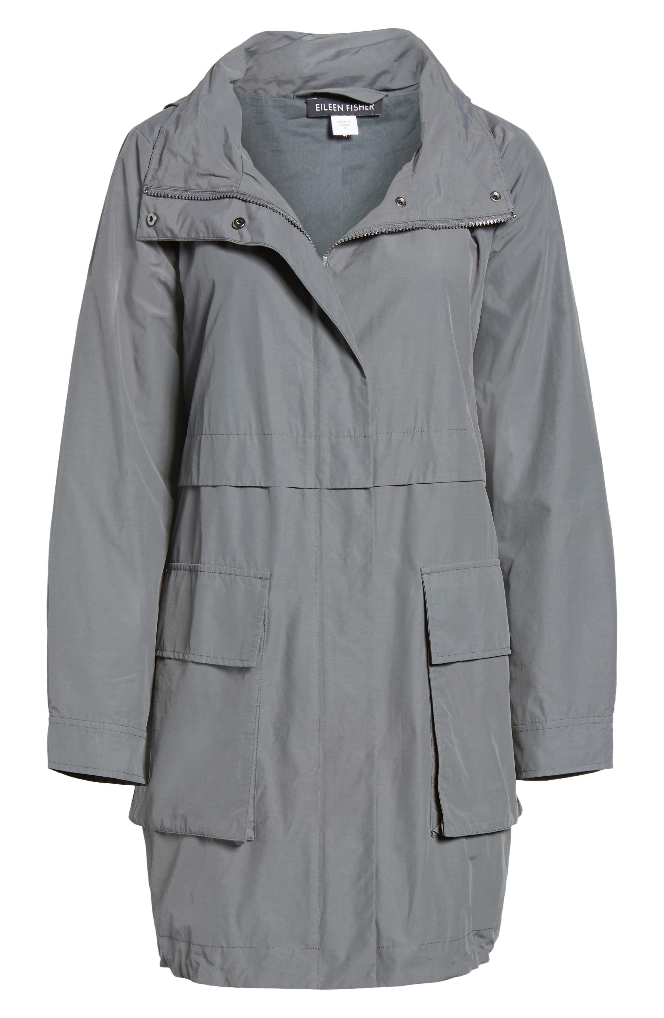 Hooded Utility Jacket,                             Alternate thumbnail 5, color,                             030