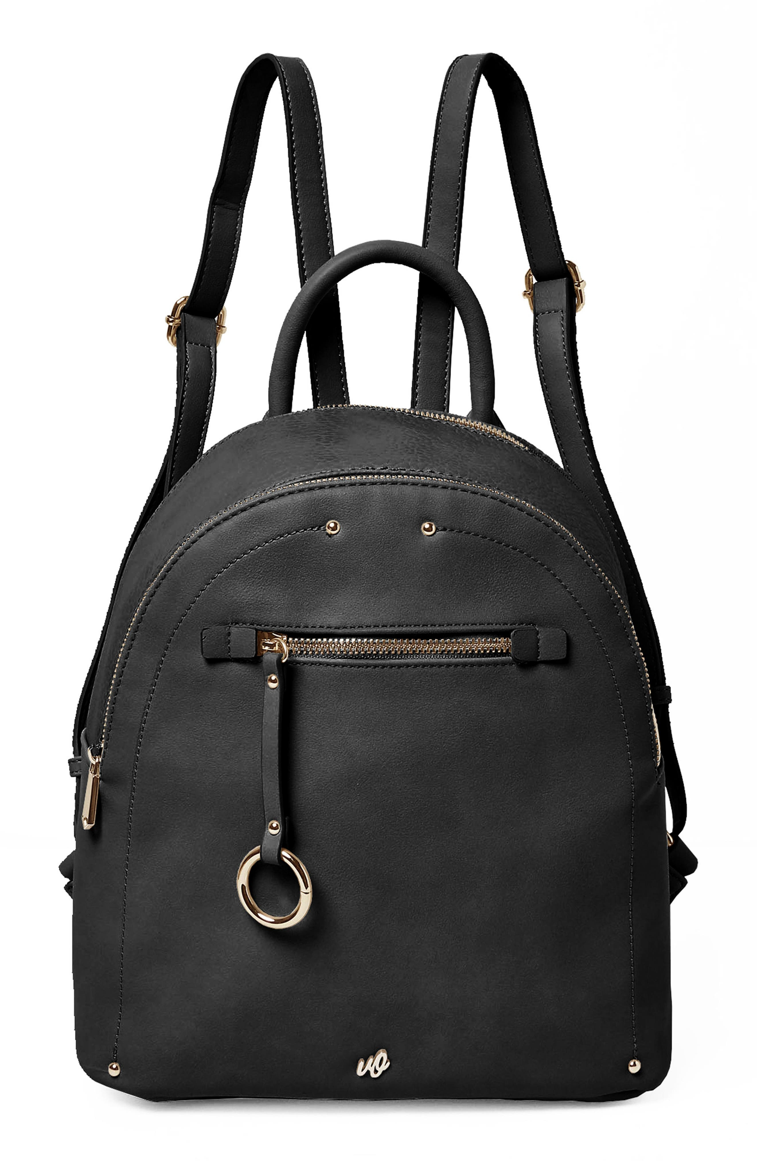 Into the Night Vegan Leather Backpack,                             Main thumbnail 1, color,