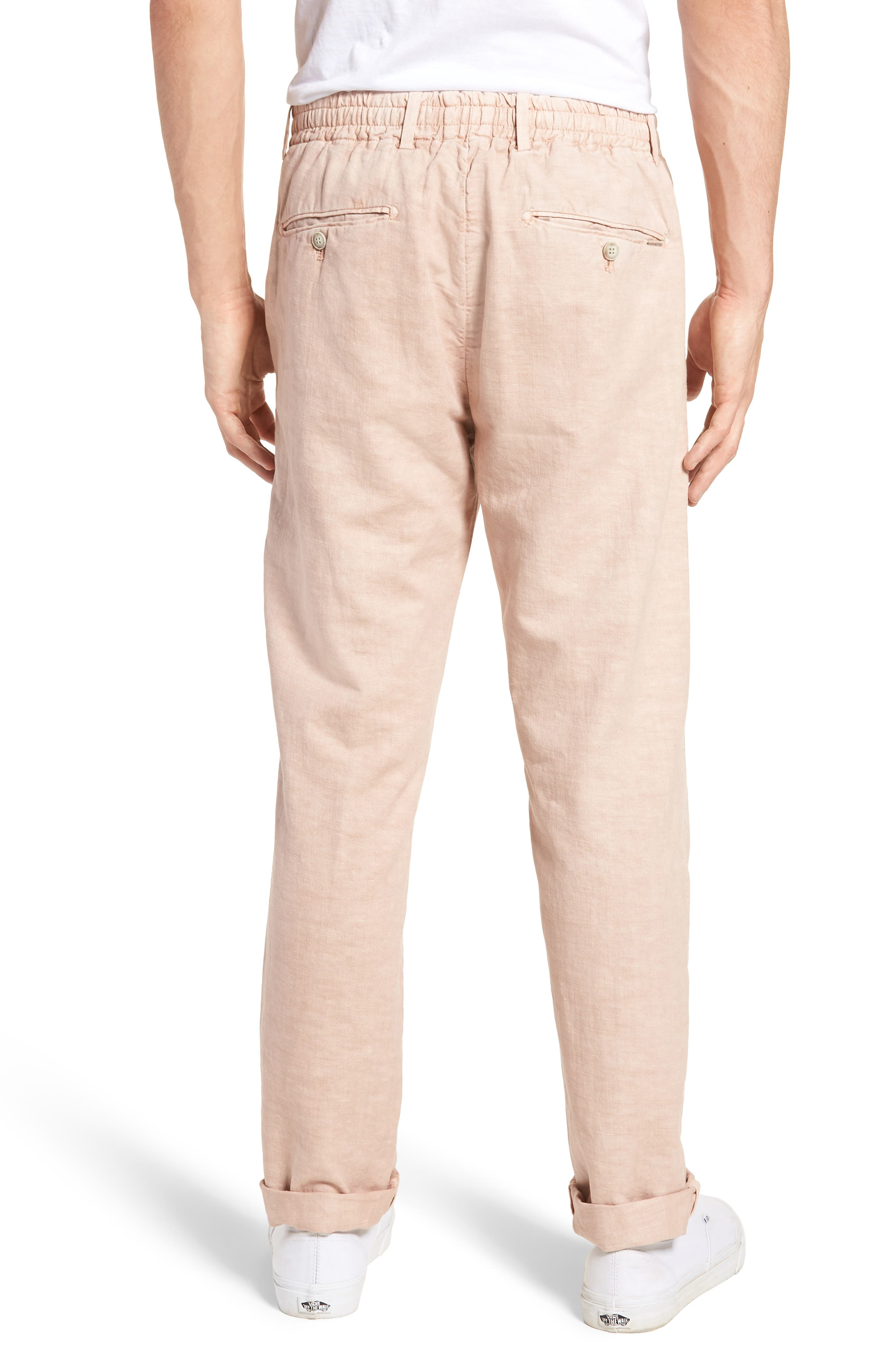 Linen Beach Pants,                             Alternate thumbnail 6, color,
