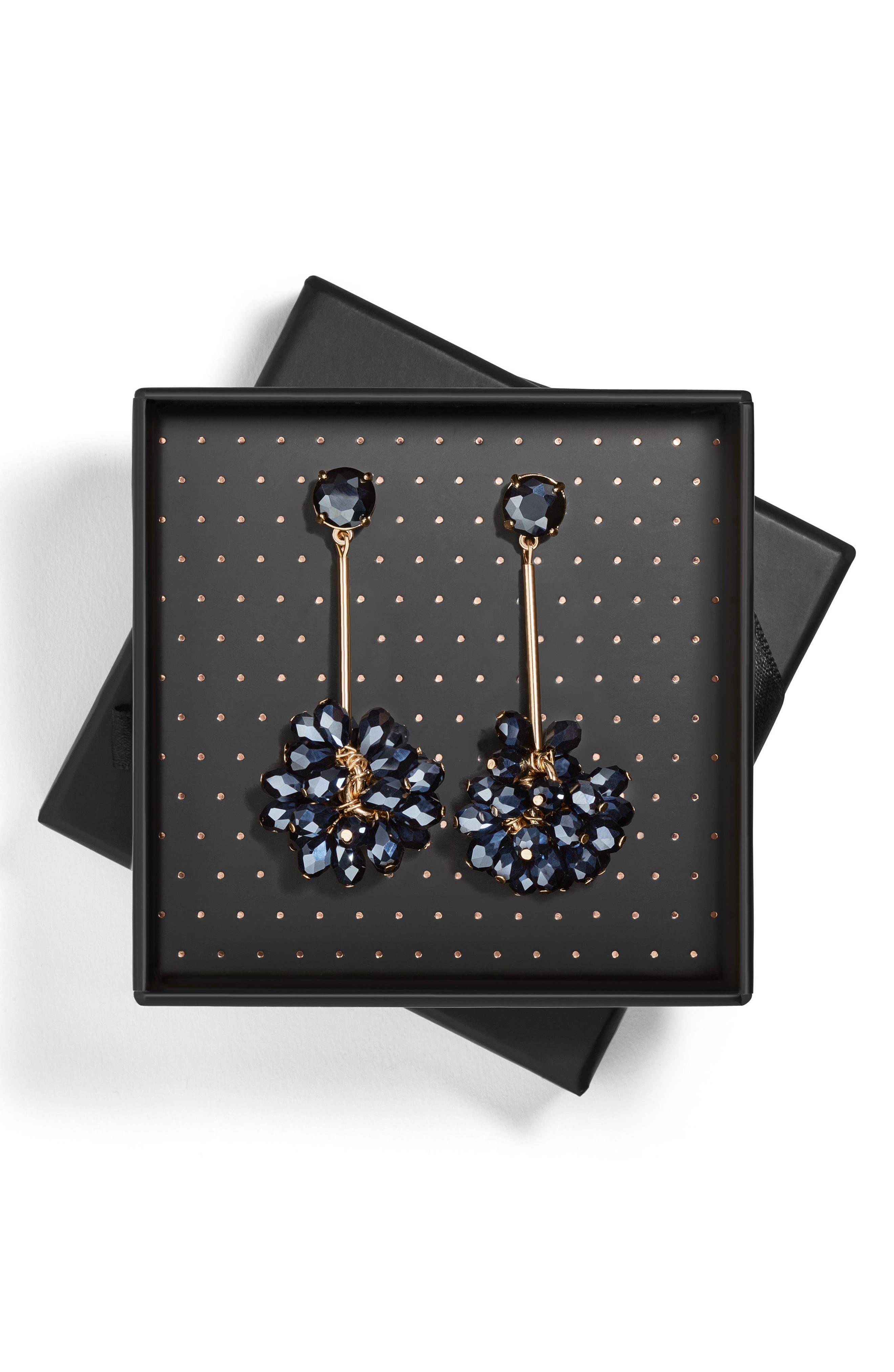 Noel Drop Earrings,                             Alternate thumbnail 2, color,                             001