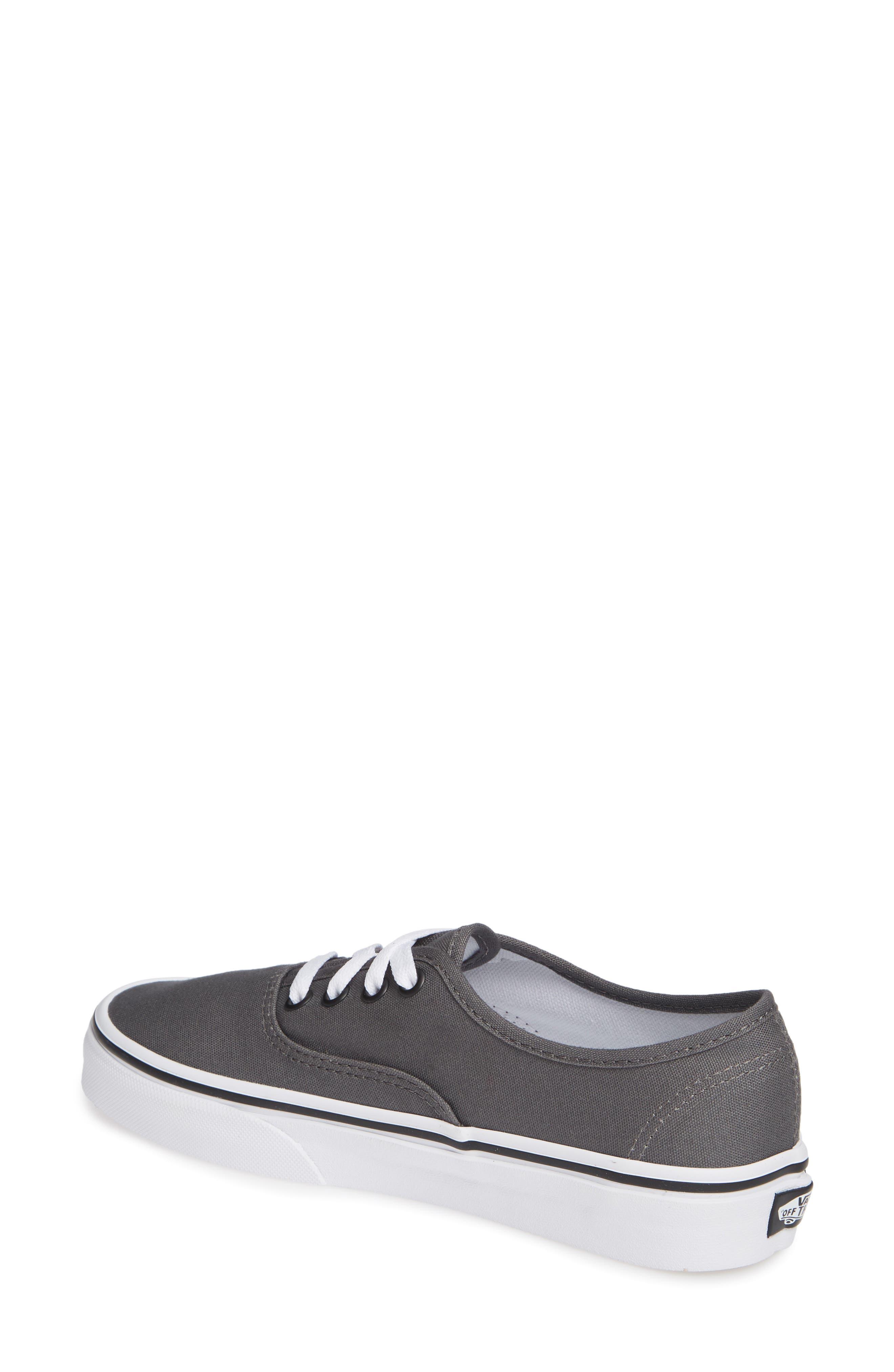 'Authentic' Sneaker,                             Alternate thumbnail 3, color,                             PEWTER/BLACK
