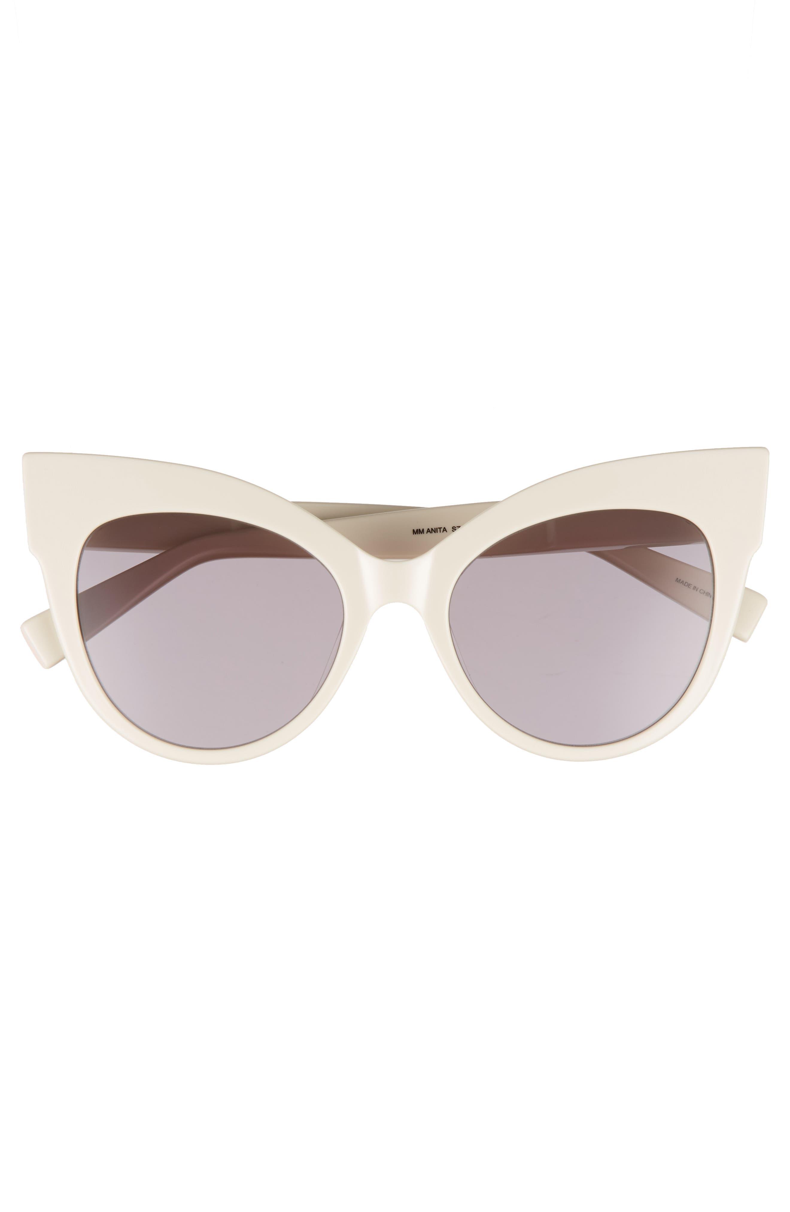 Anita 52mm Cat Eye Sunglasses,                             Alternate thumbnail 12, color,
