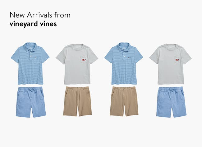 New arrivals from Vineyard Vines