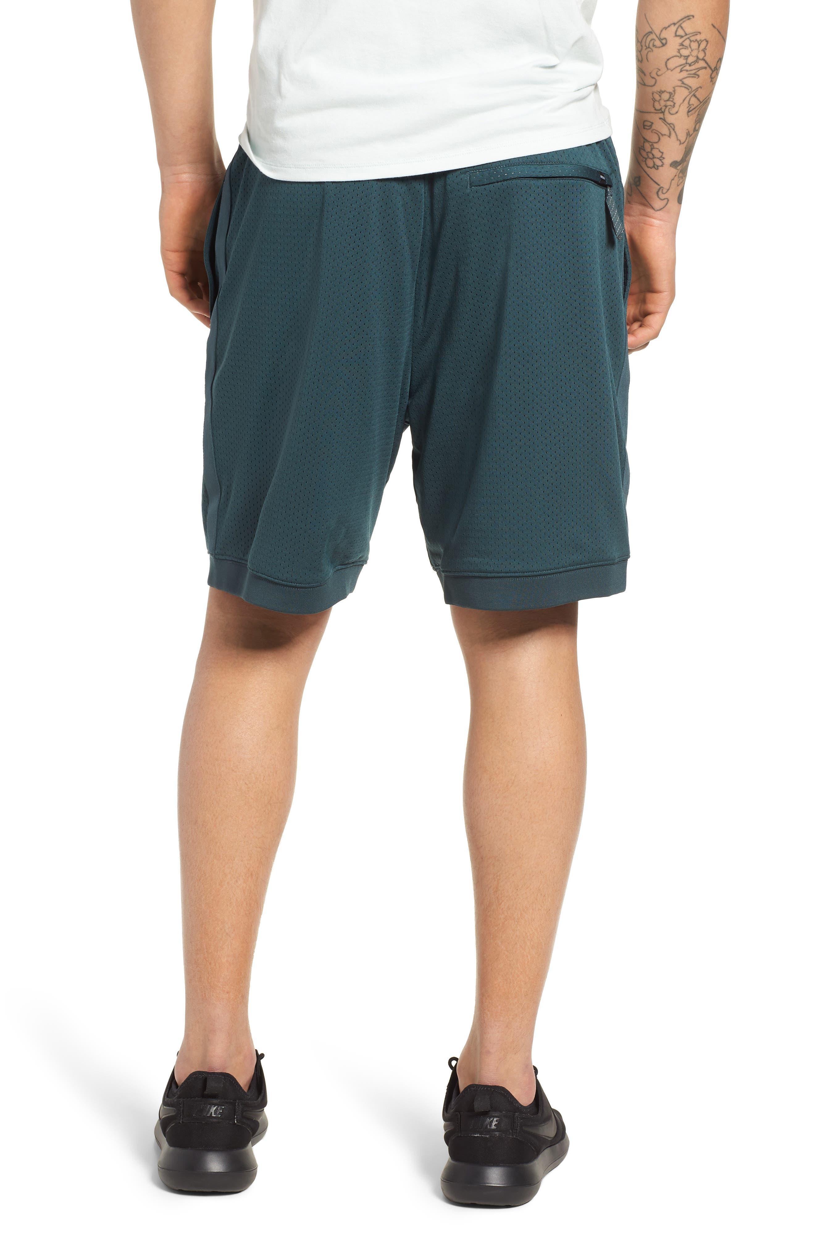SB Dry Heritage Court Shorts,                             Alternate thumbnail 2, color,                             DEEP JUNGLE/ BLACK