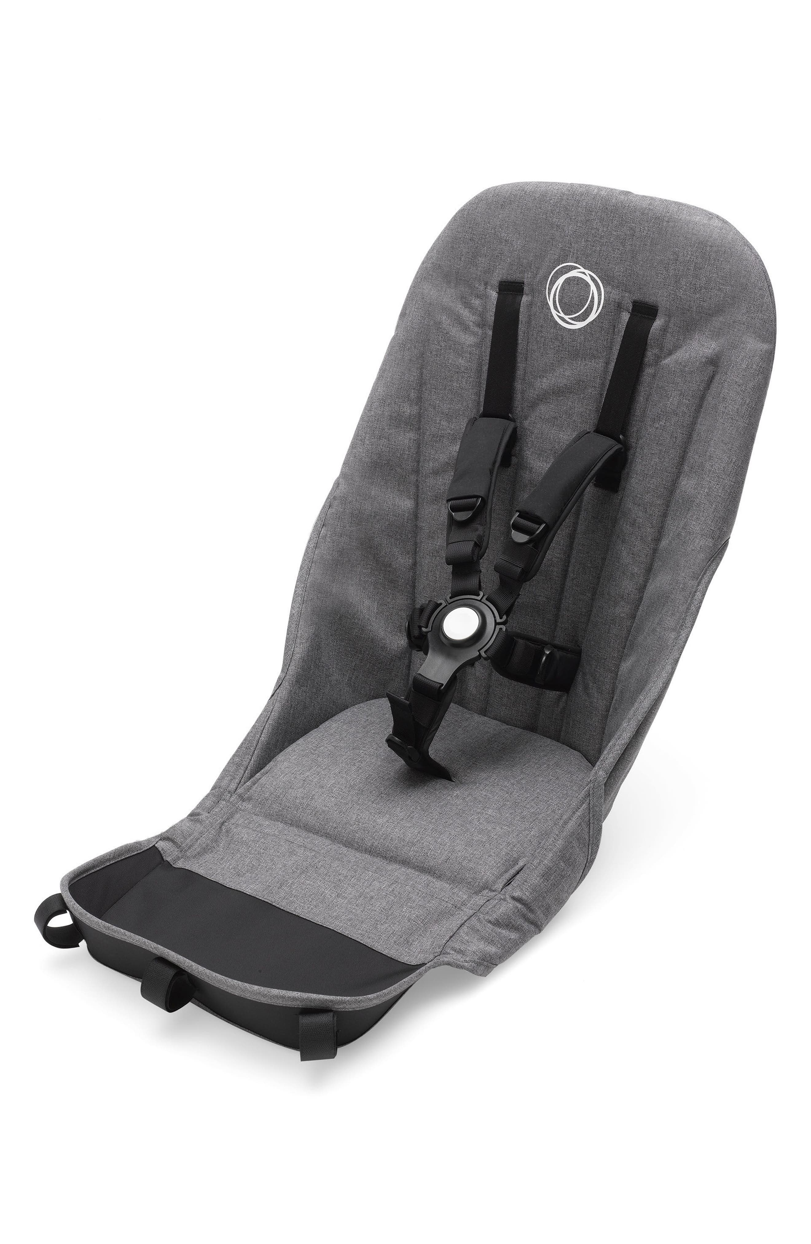 Seat Fabric for Donkey 2 Stroller,                             Main thumbnail 1, color,                             GREY MELANGE