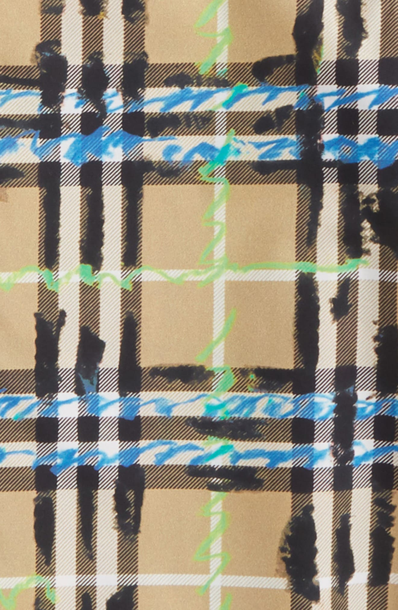 Clarkey Scribble Check Woven Shirt,                             Alternate thumbnail 2, color,                             BRIGHT BLUE