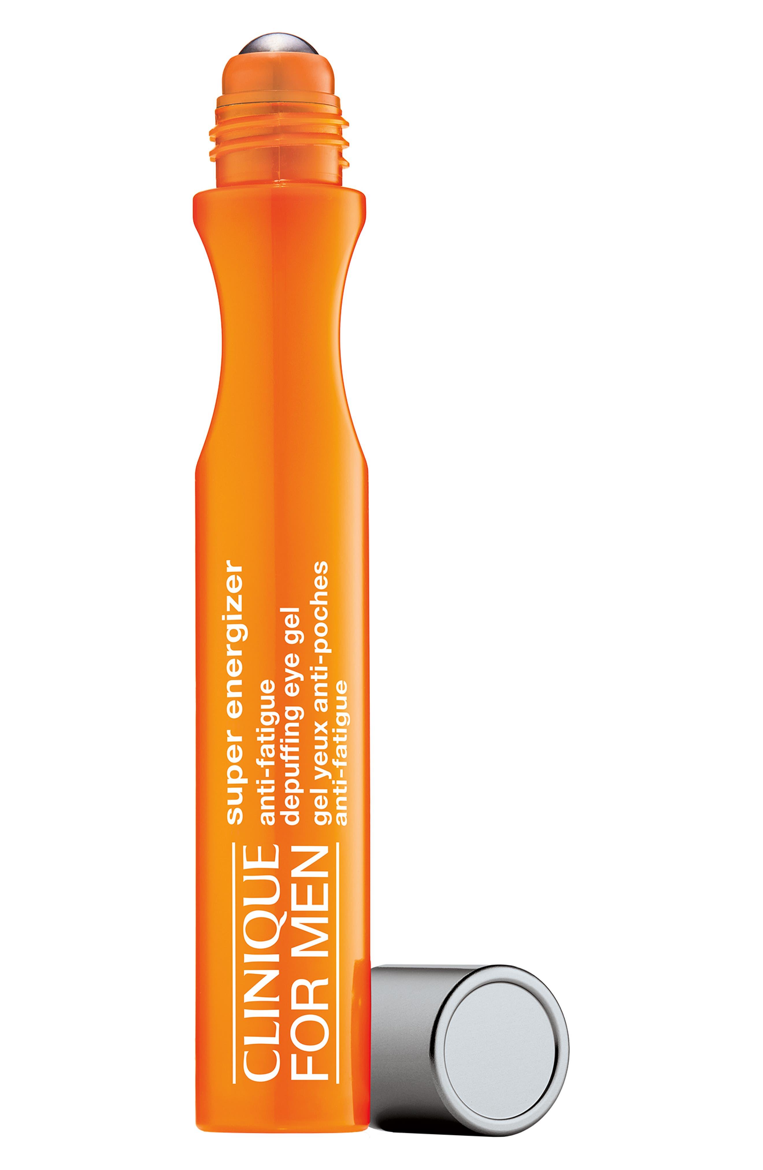 for Men Super Energizer Anti-Fatigue Depuffing Eye Gel,                         Main,                         color, NO COLOR