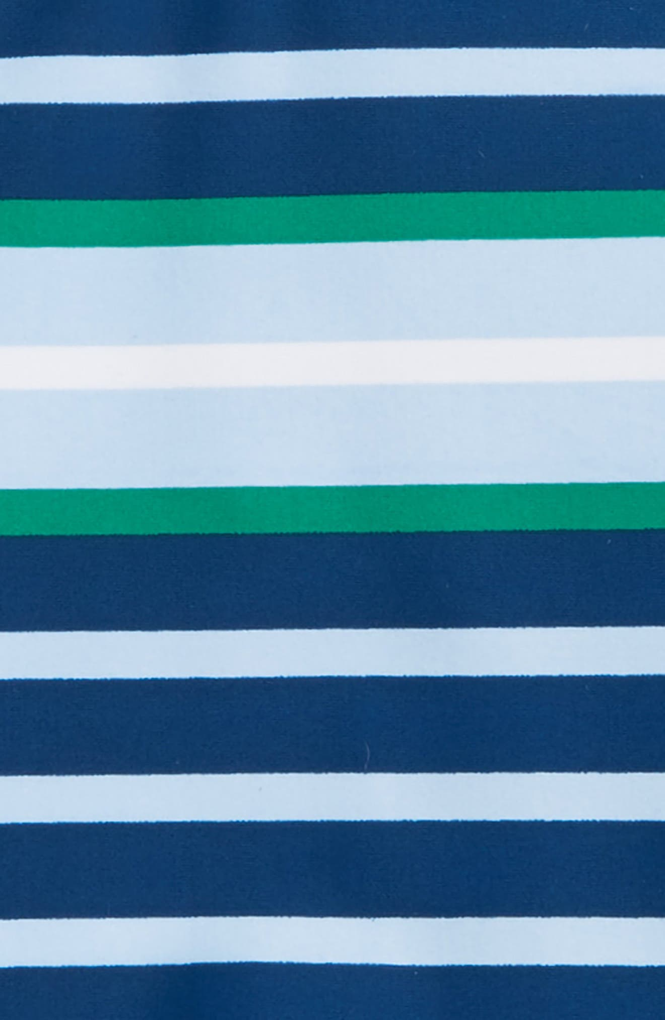 Botanical Blue Two-Piece Rashguard Swimsuit,                             Alternate thumbnail 2, color,                             400