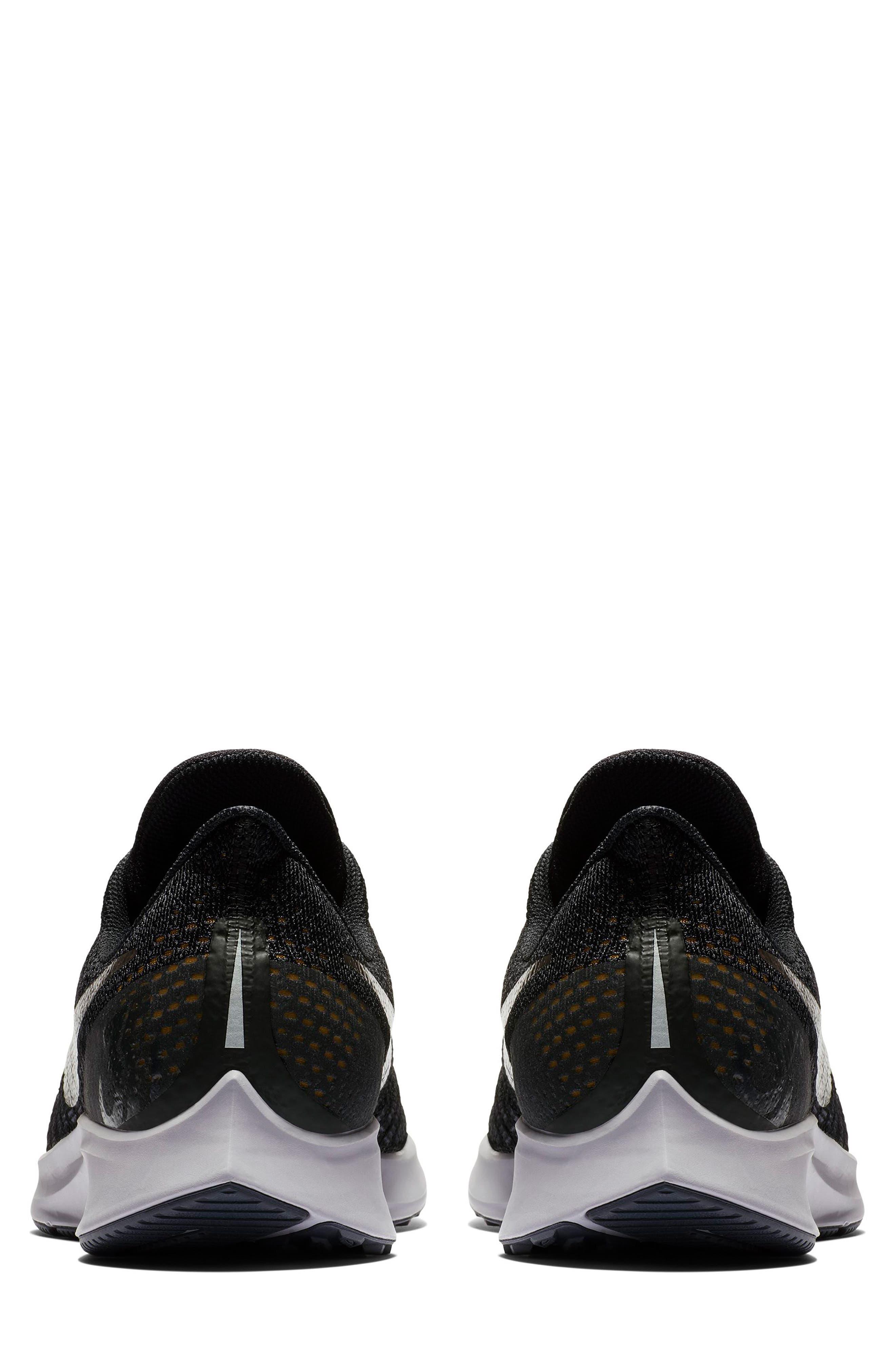 Air Zoom Pegasus 35 Running Shoe,                             Alternate thumbnail 5, color,                             BLACK/ PEWTER/ MOSS