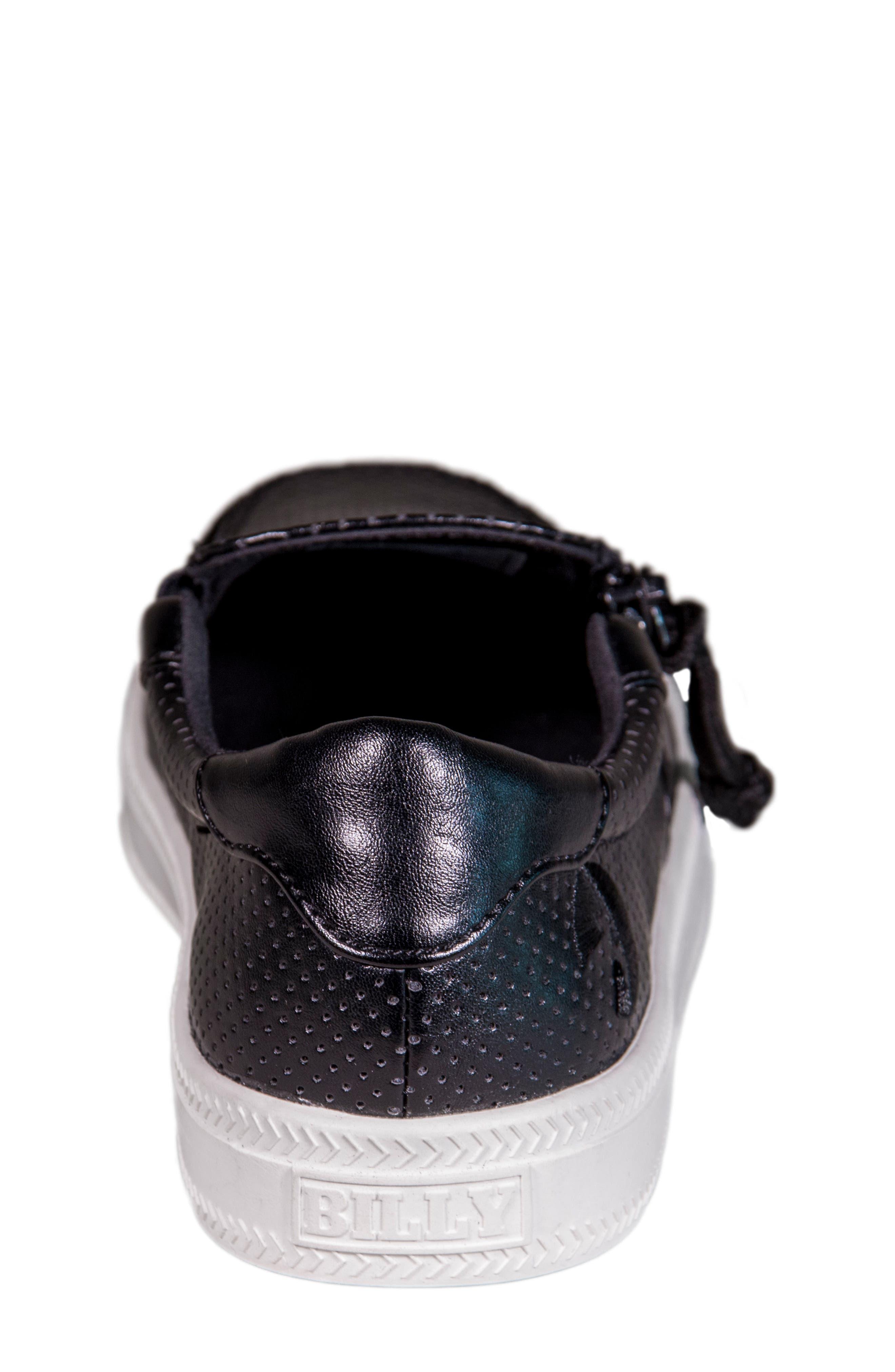 Zip Around Perforated Low Top Sneaker,                             Alternate thumbnail 11, color,