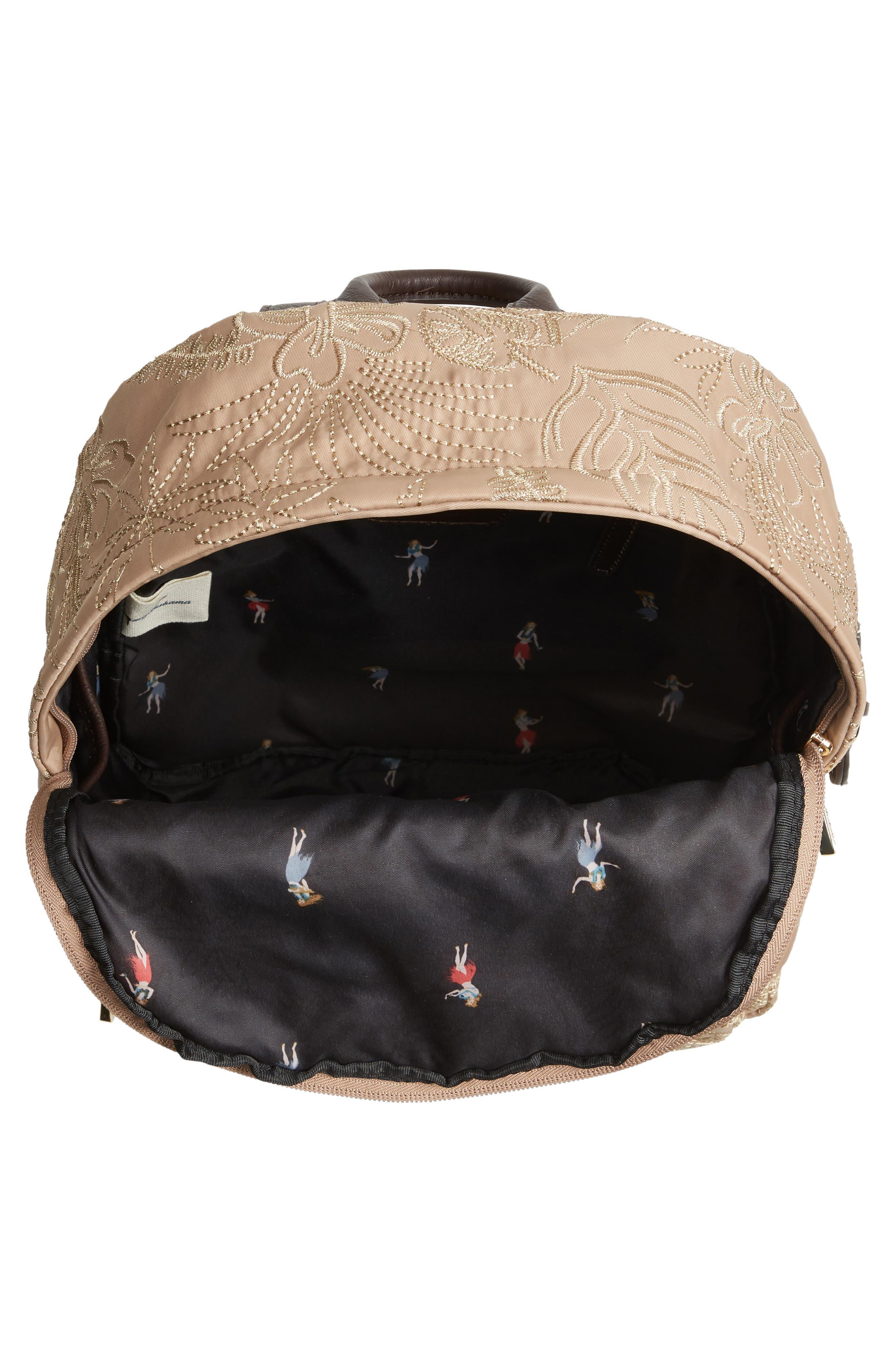 Siesta Key Backpack,                             Alternate thumbnail 4, color,                             230