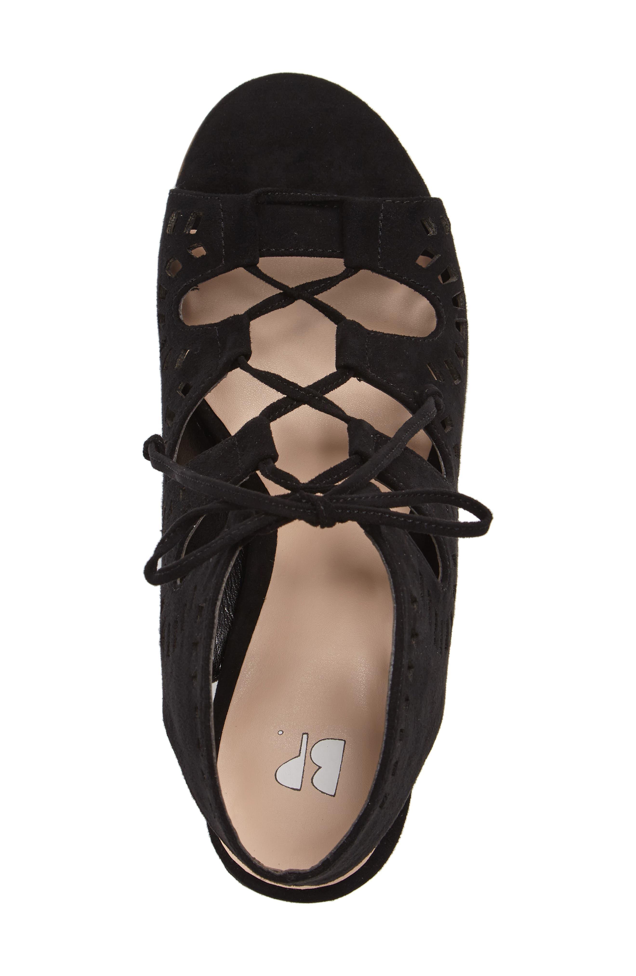 Decker Lace-Up Sandal,                             Alternate thumbnail 4, color,                             003