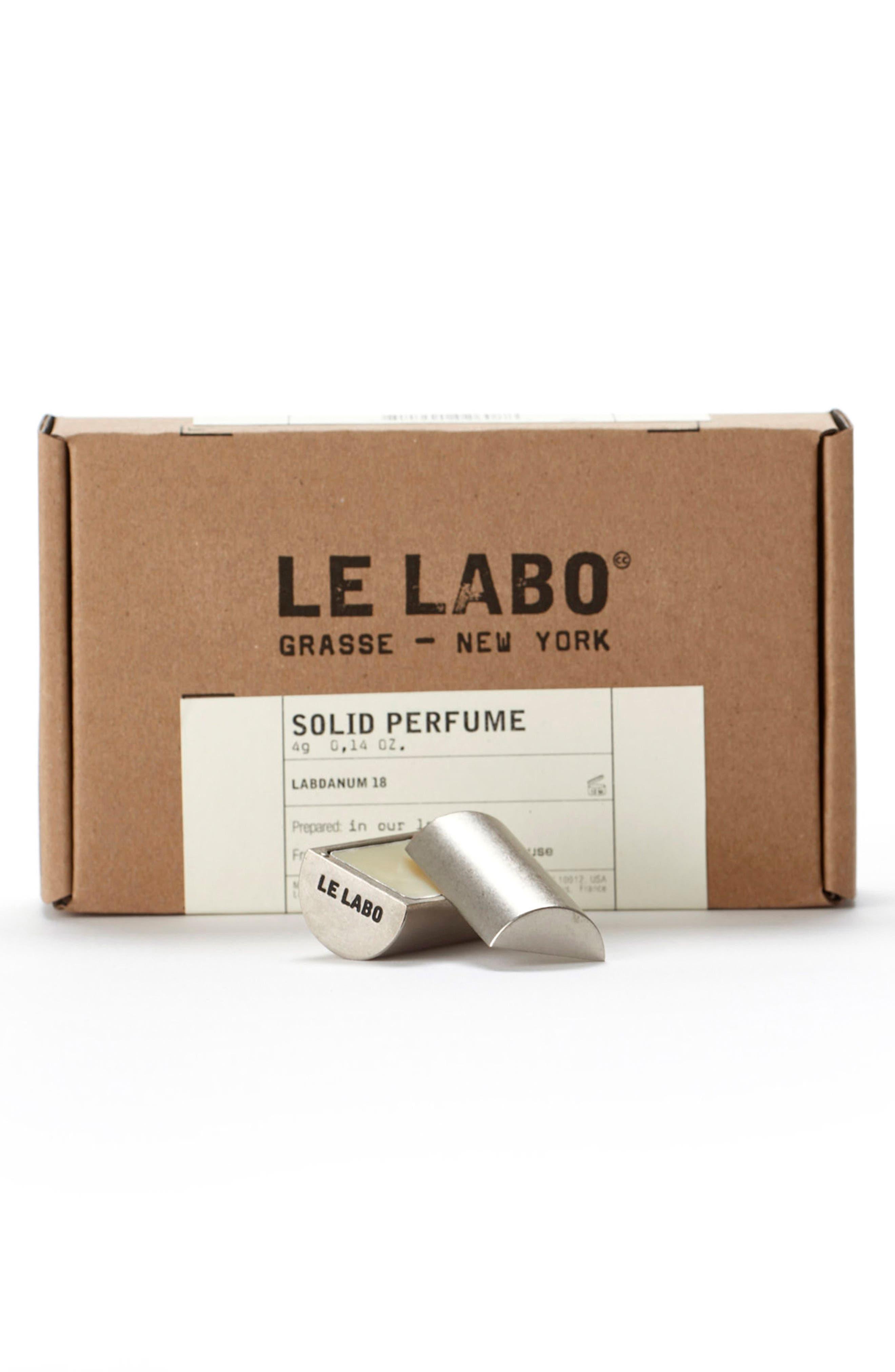 'Labdanum 18' Solid Perfume,                             Alternate thumbnail 2, color,                             000