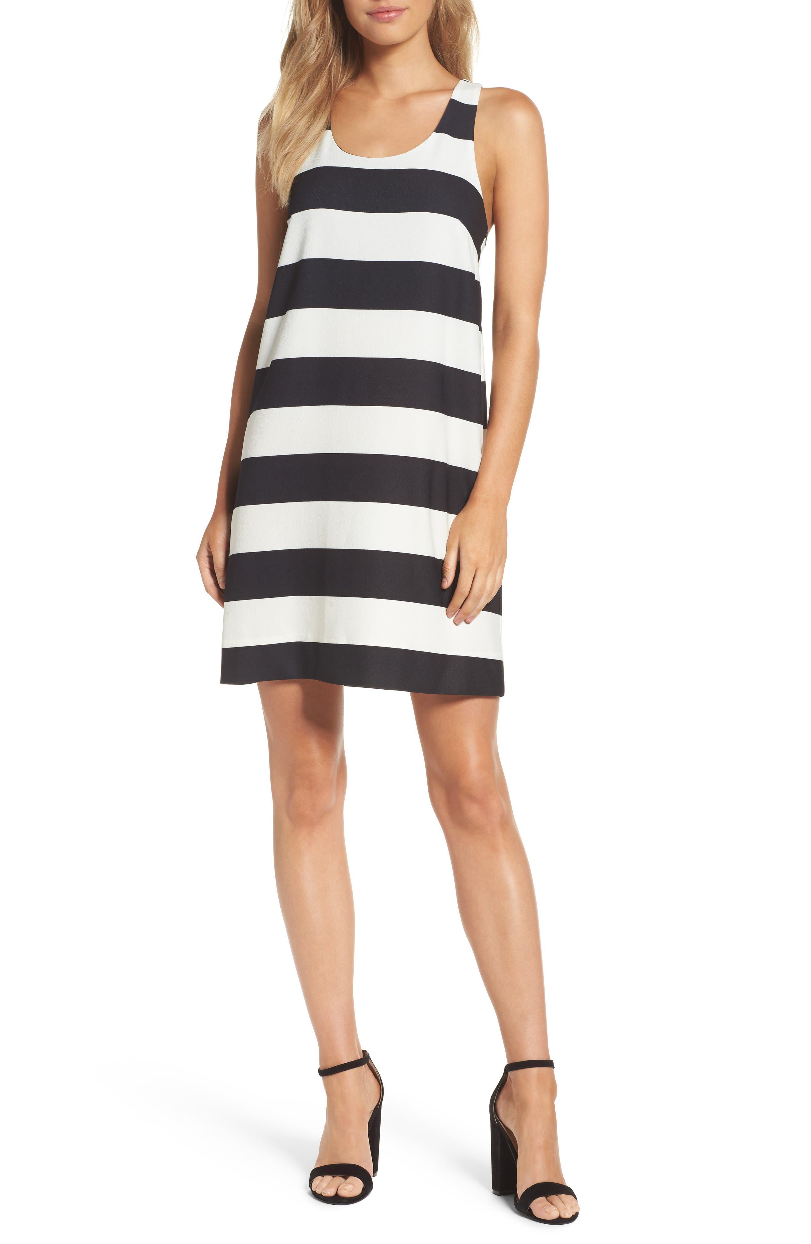 Sandy A-Line Dress,                             Main thumbnail 1, color,                             002