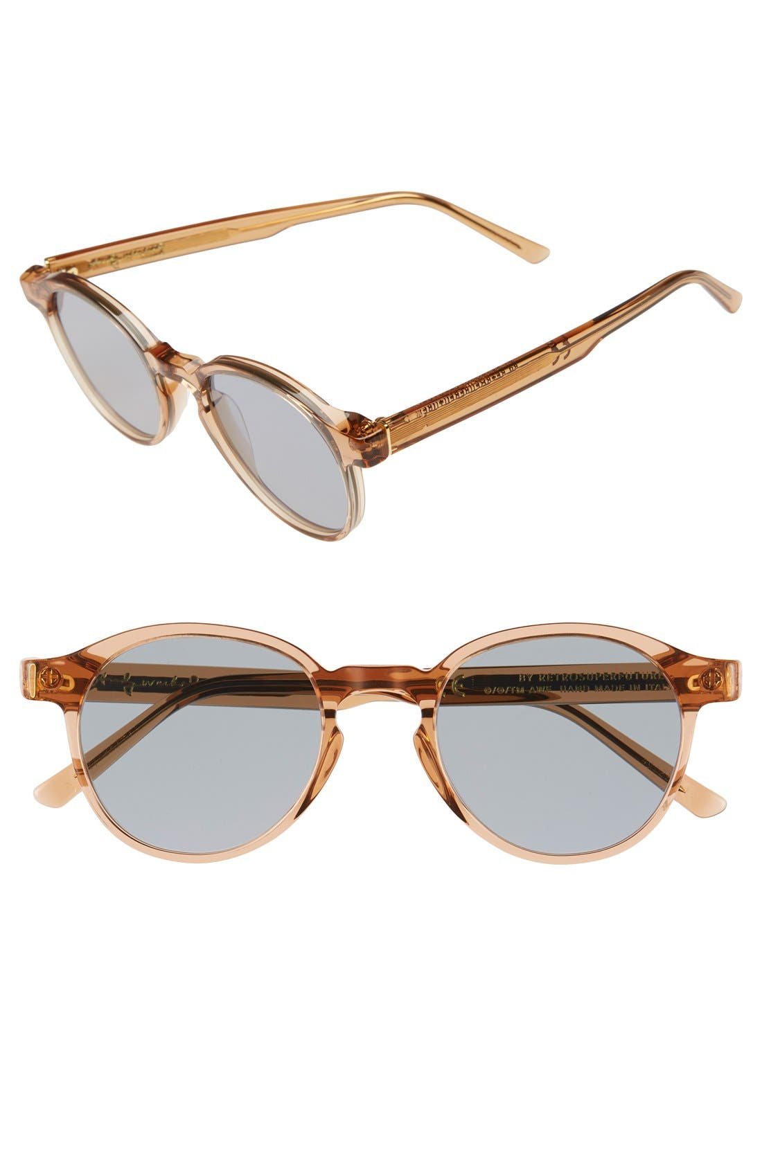 'Iconic' 49mm Sunglasses,                             Main thumbnail 1, color,                             201