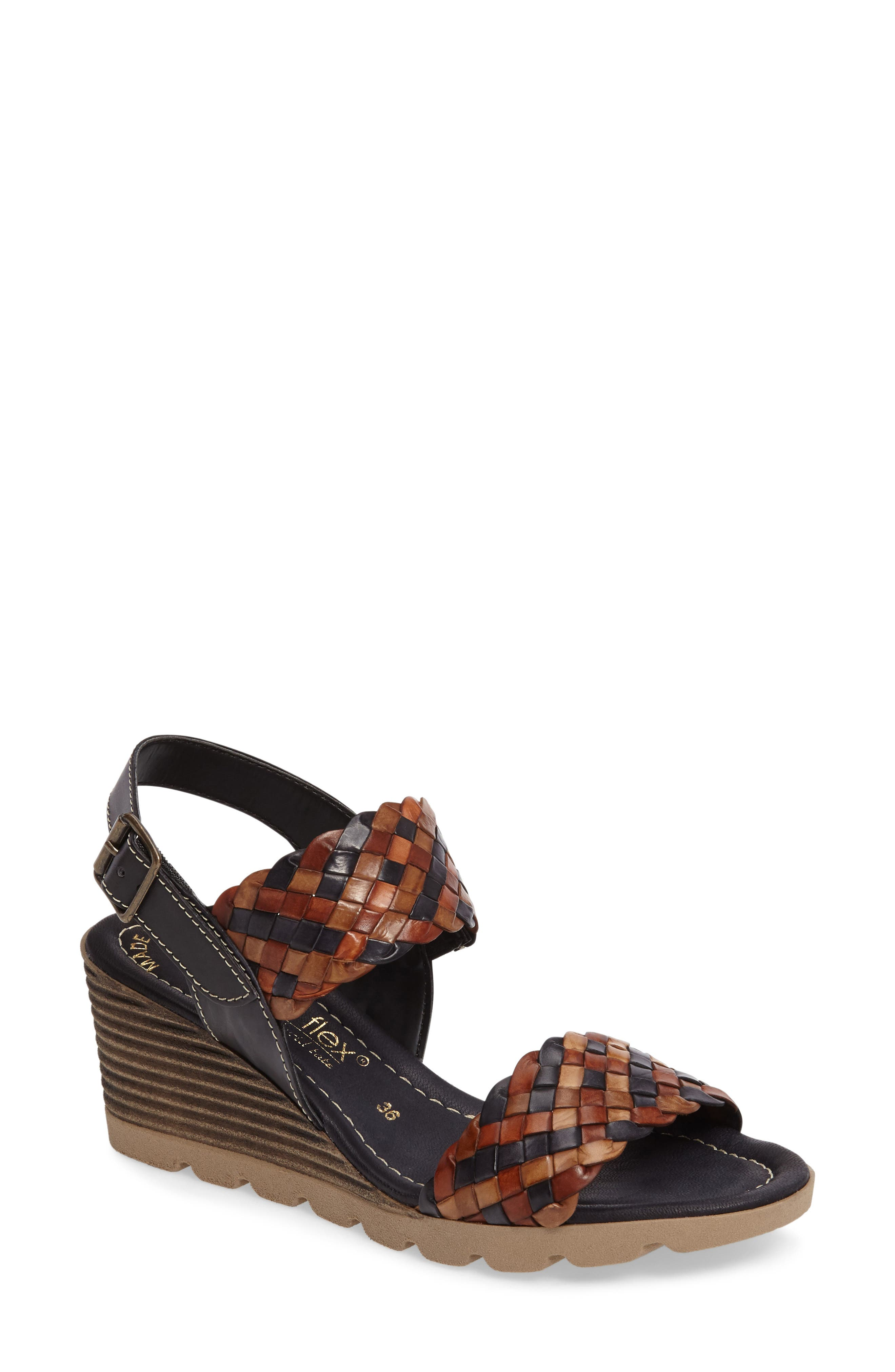 Cool Wedge Sandal,                         Main,                         color, 001