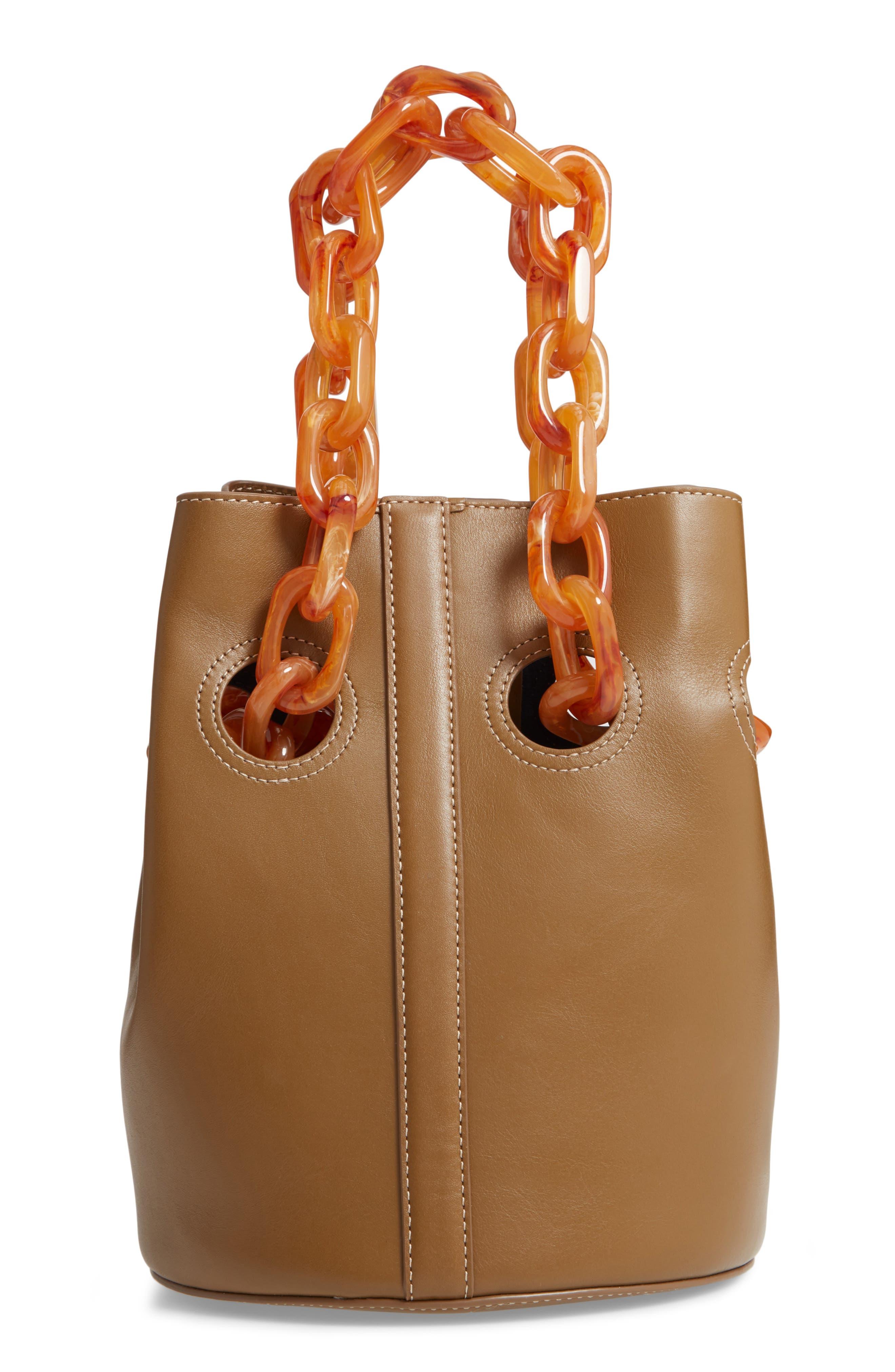 Goodall Leather Bucket Bag,                             Main thumbnail 1, color,                             200